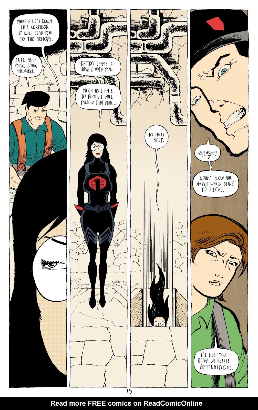 Read online G.I. Joe: Sierra Muerte comic -  Issue #3 - 17