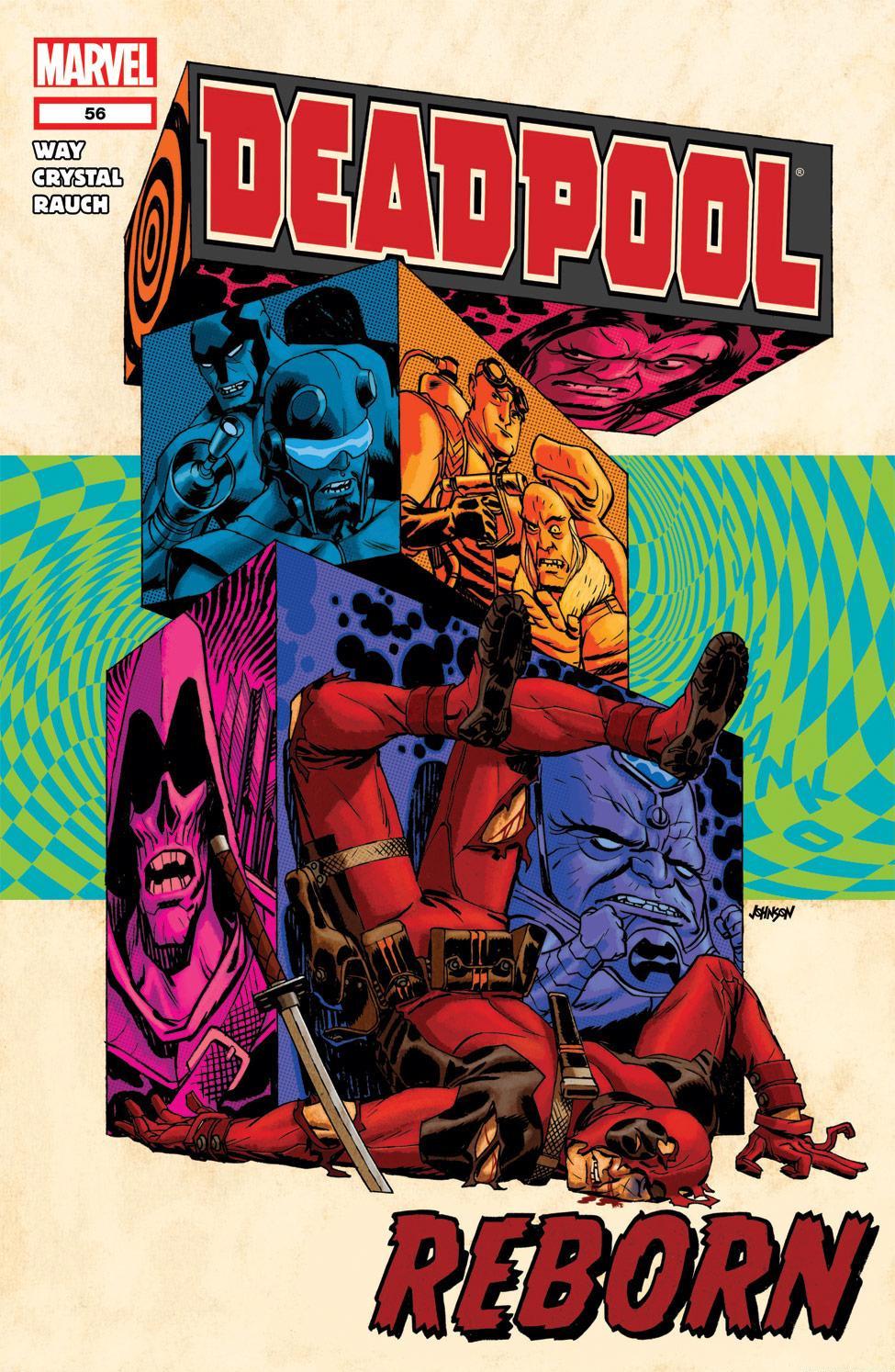 Read online Deadpool (2008) comic -  Issue #56 - 1