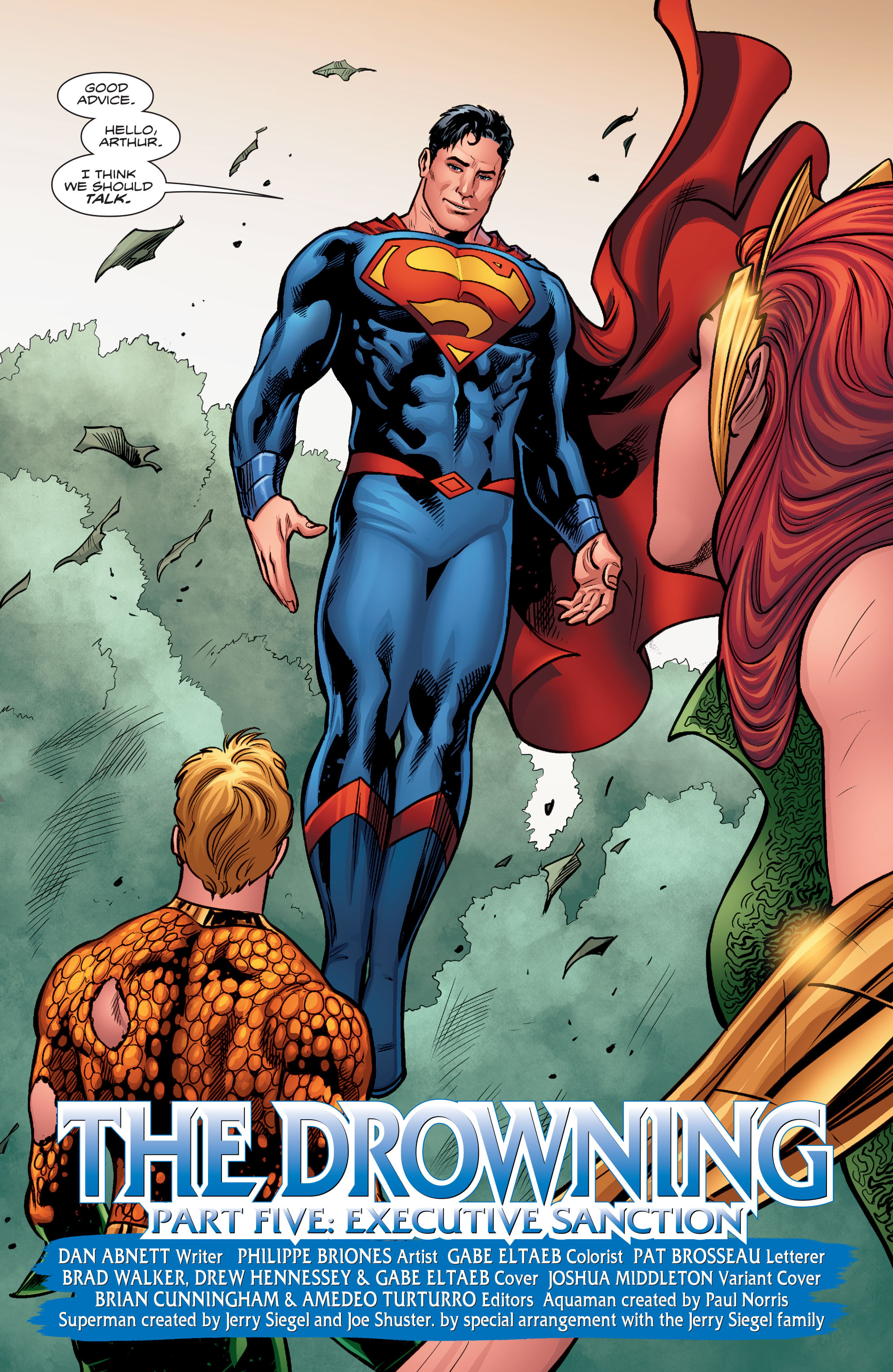 Read online Aquaman (2016) comic -  Issue #5 - 22