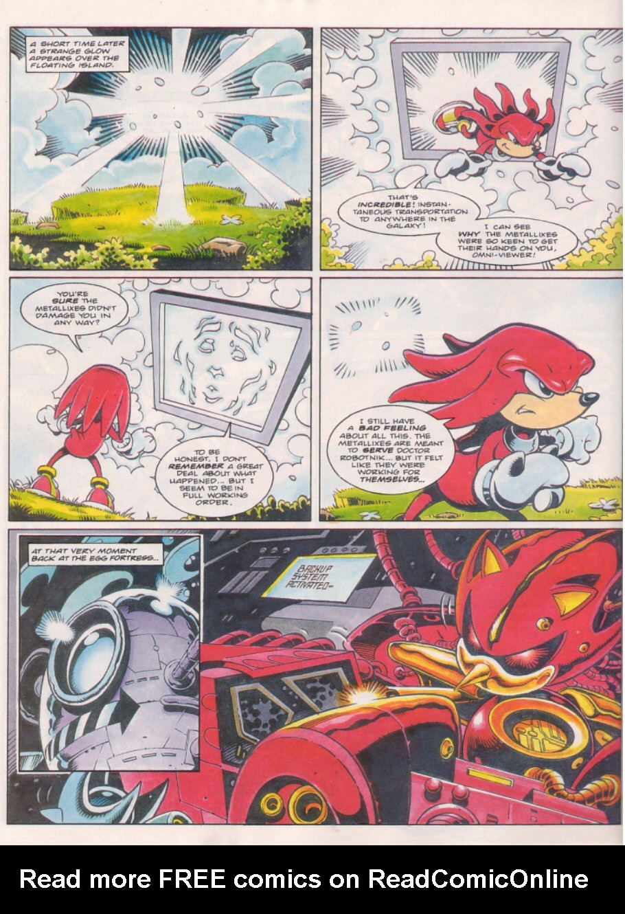 Read online Sonic the Comic comic -  Issue #58 - 21