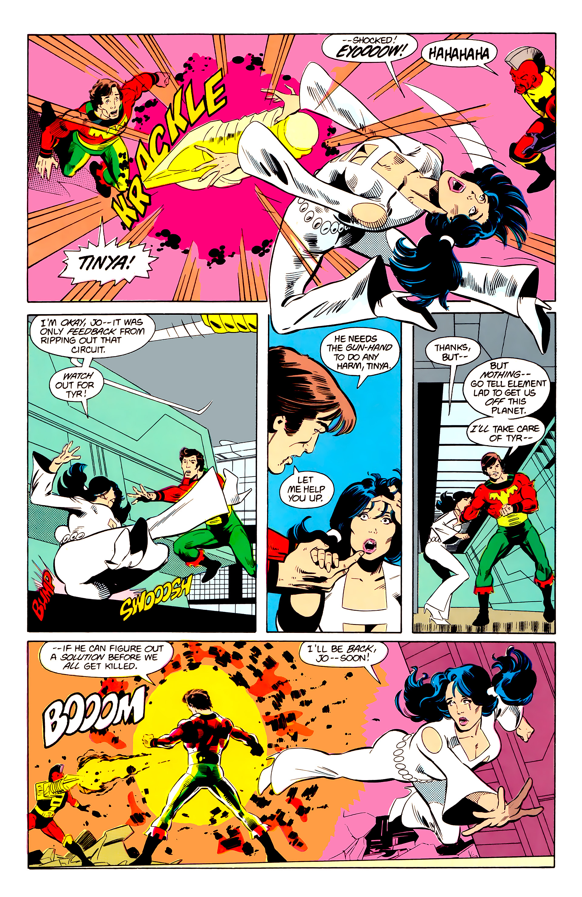 Legion of Super-Heroes (1984) 20 Page 10