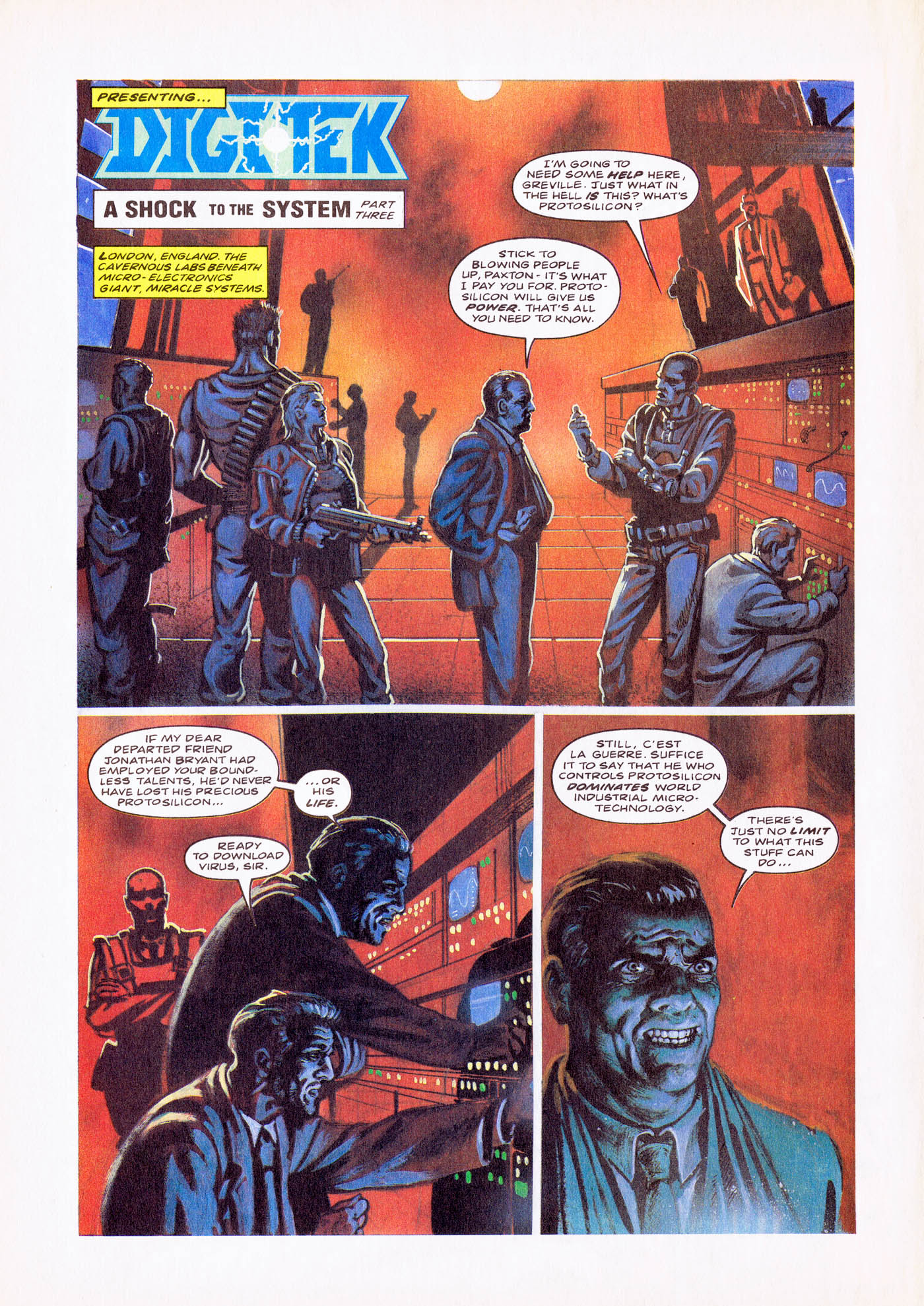Read online Overkill comic -  Issue #4 - 10