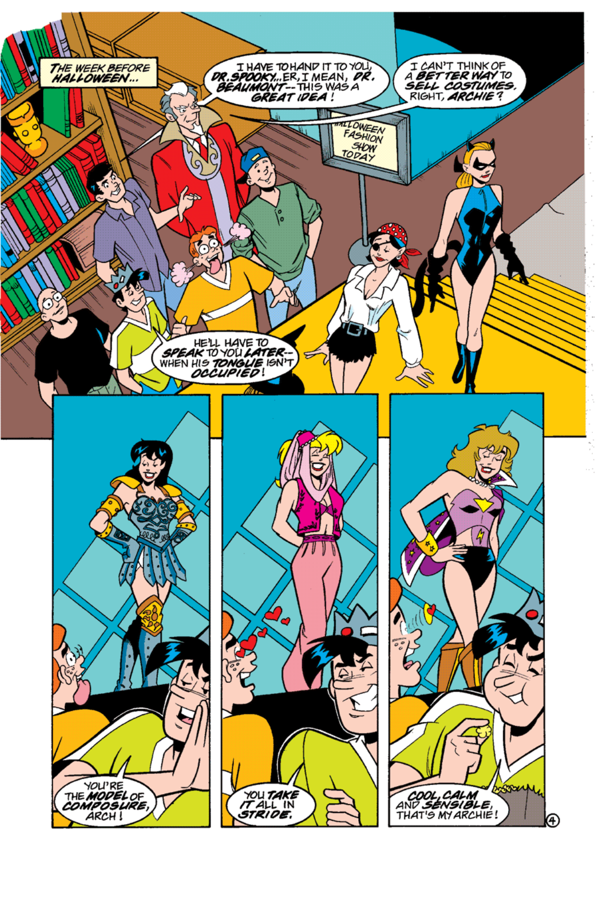 Read online Archie's Weird Mysteries comic -  Issue #12 - 6