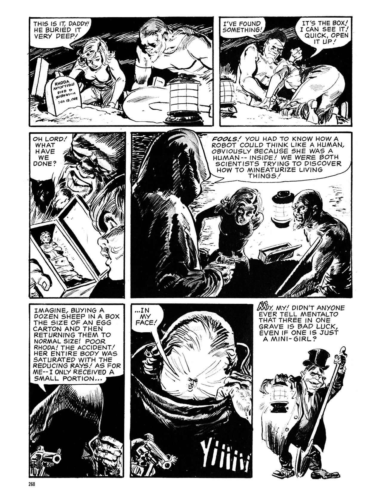 Read online Eerie Archives comic -  Issue # TPB 5 - 269