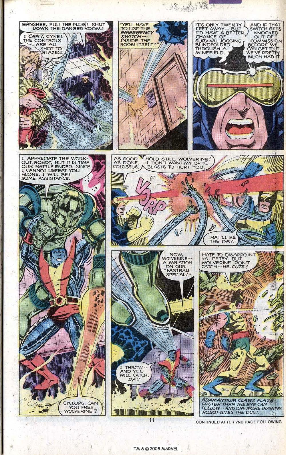 Read online Uncanny X-Men (1963) comic -  Issue # _Annual 3 - 13
