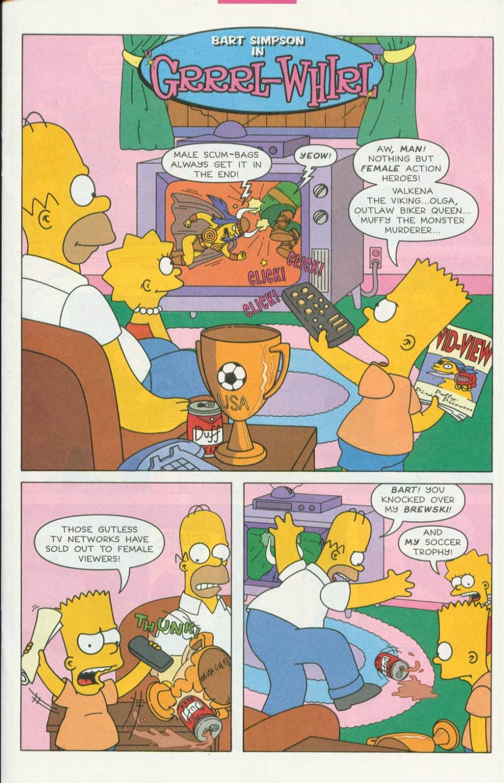 Read online Simpsons Comics Presents Bart Simpson comic -  Issue #1 - 13