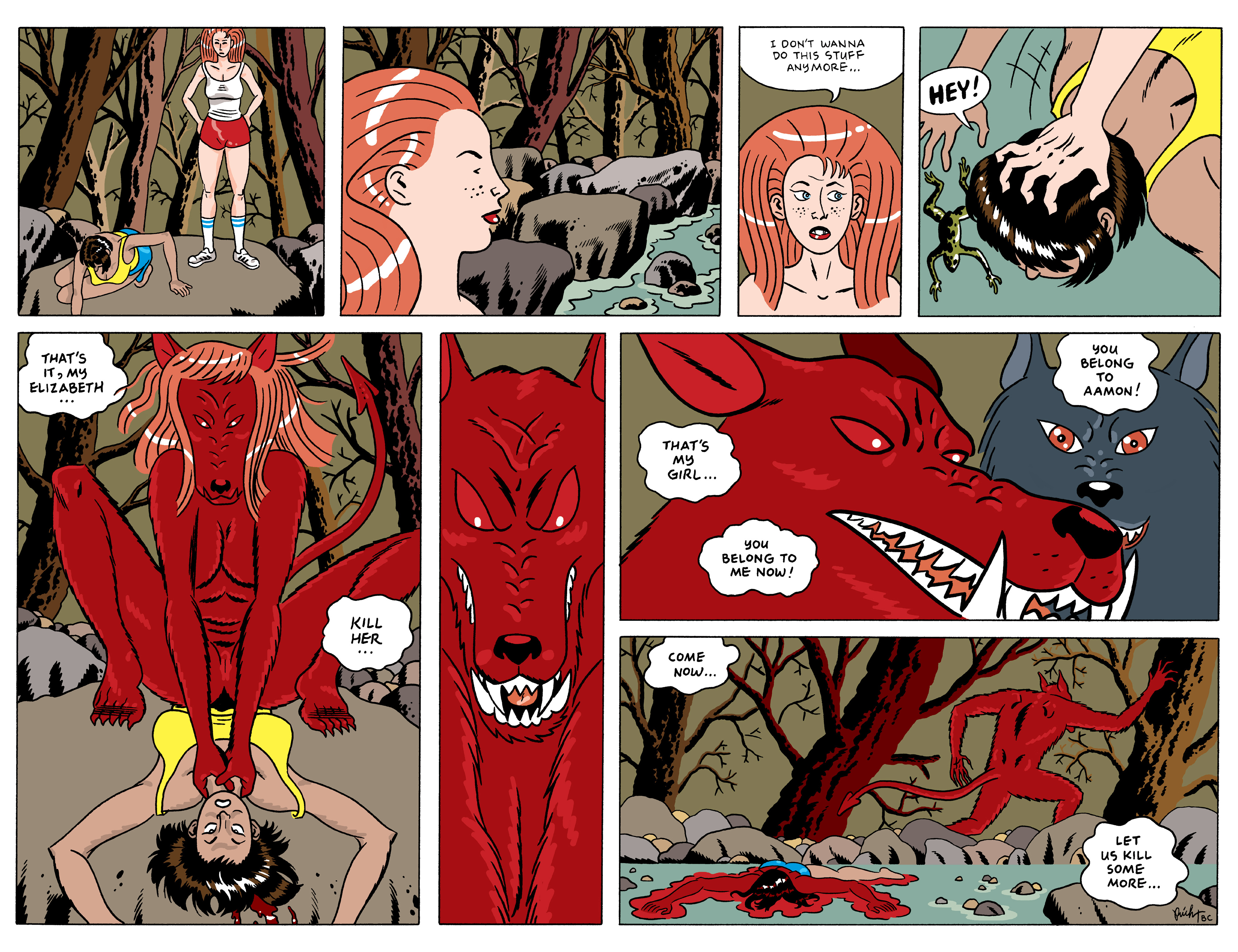 Read online She Wolf comic -  Issue #5 - 10