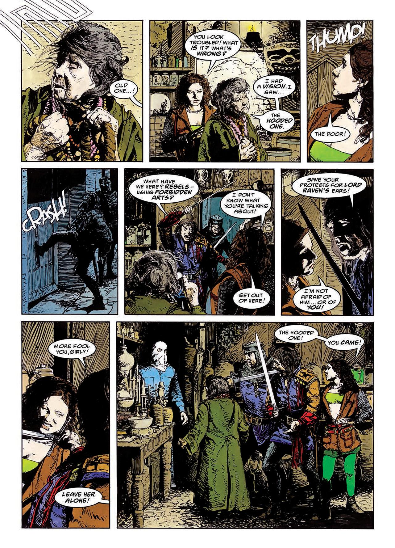 Read online Mazeworld comic -  Issue # TPB - 73