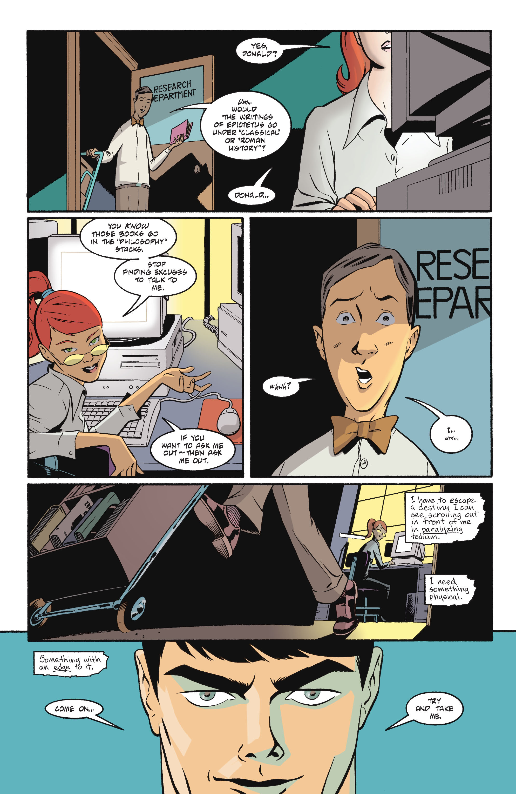 Batgirl/Robin: Year One TPB_2 Page 1