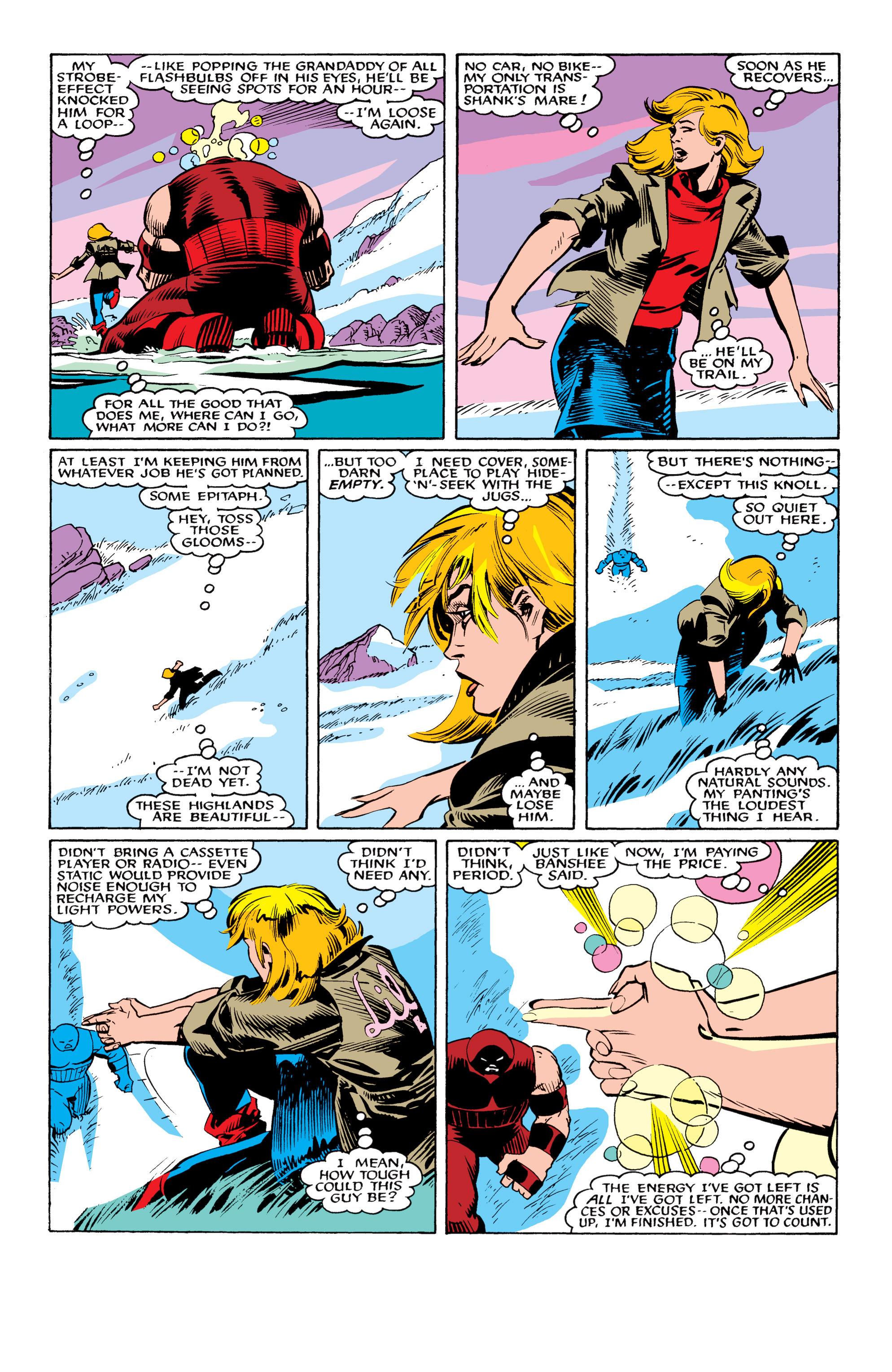 Read online Uncanny X-Men (1963) comic -  Issue #217 - 21
