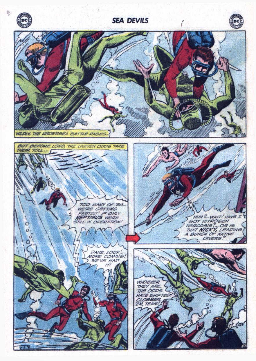 Read online Sea Devils comic -  Issue #25 - 21
