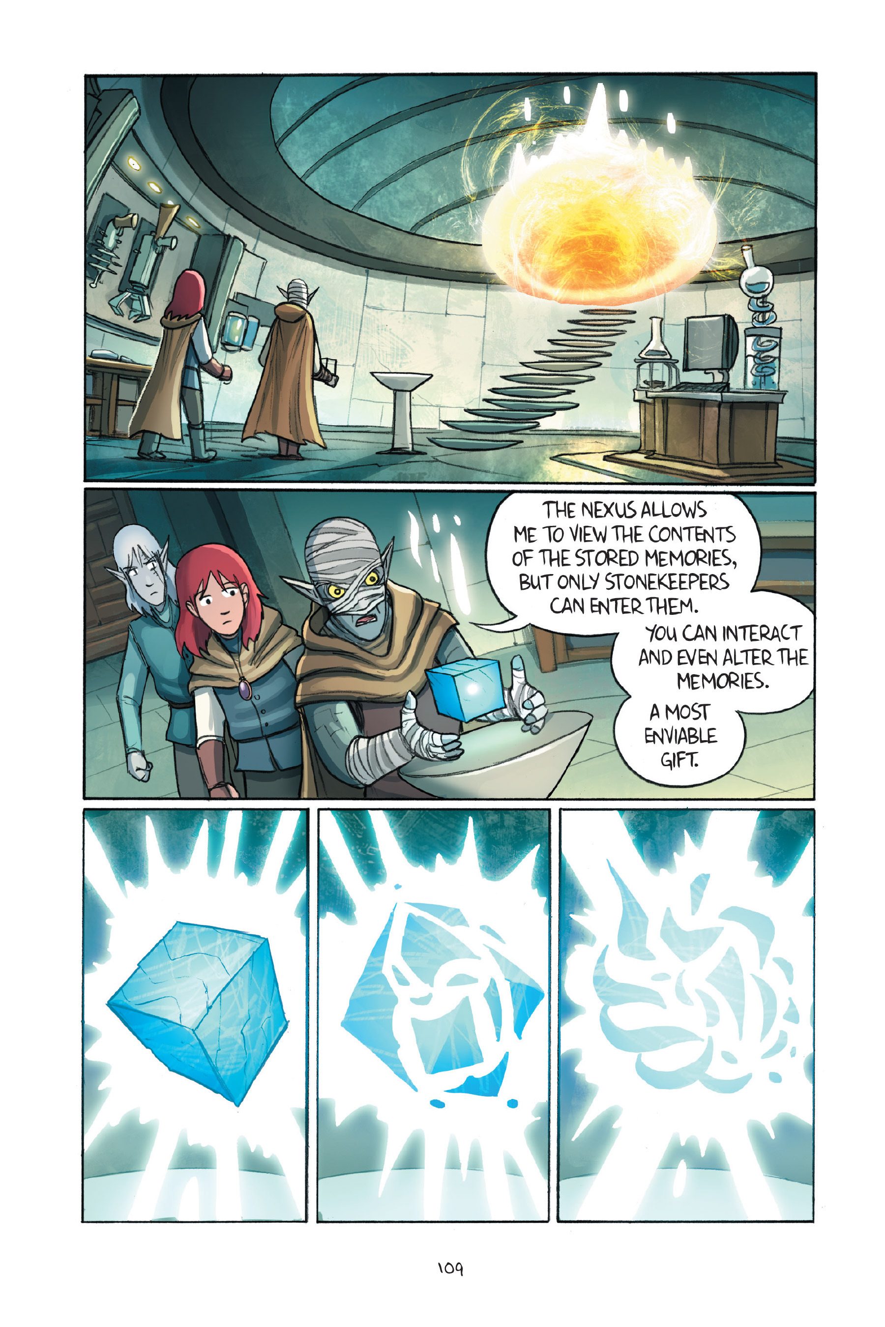 Read online Amulet comic -  Issue #7 - 109