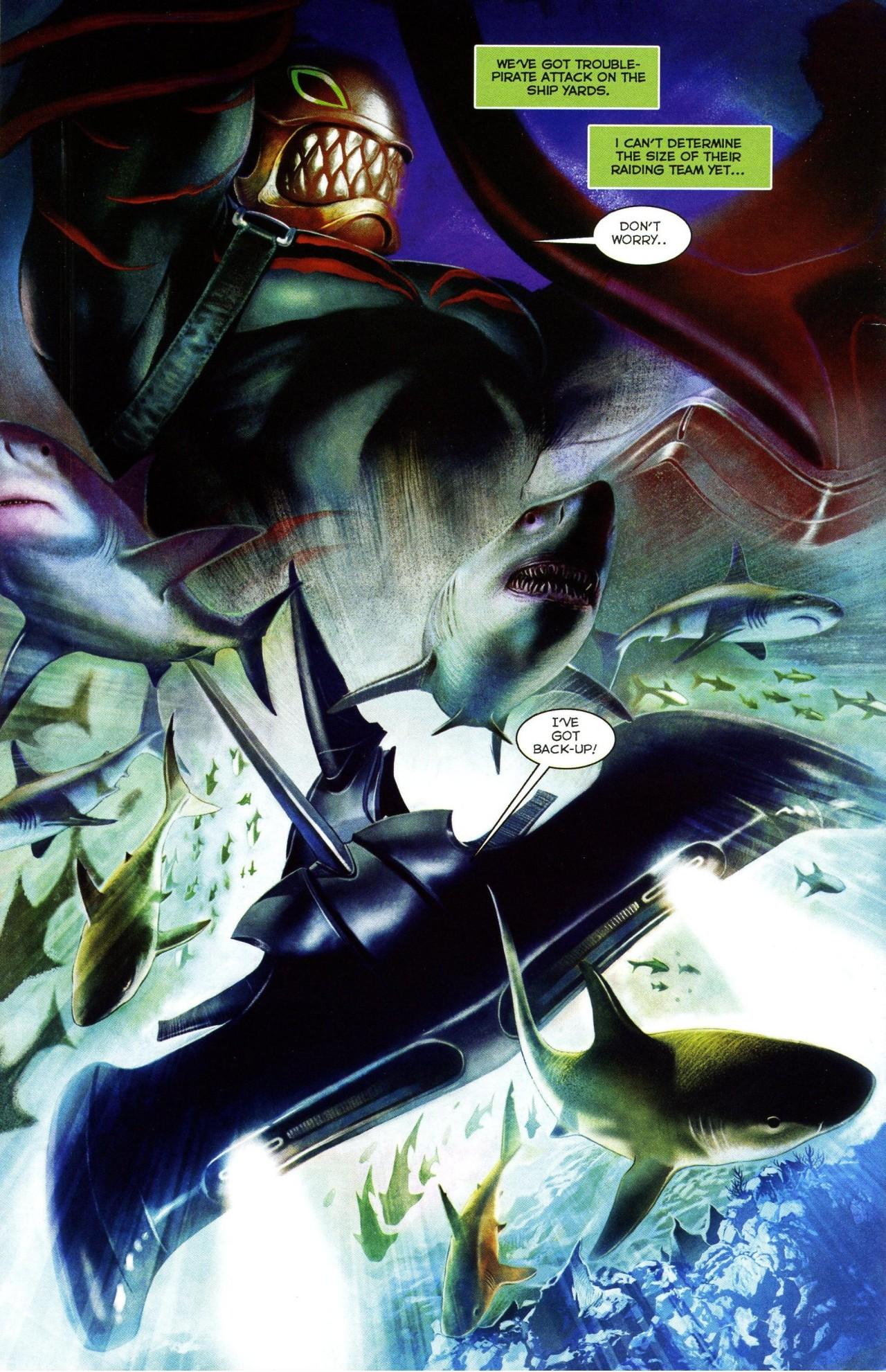 Read online Shark-Man comic -  Issue #3 - 23