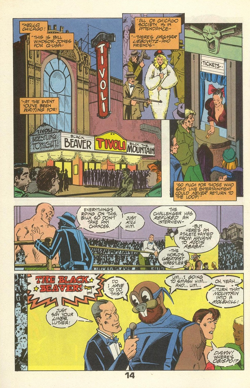 Read online American Flagg! comic -  Issue #34 - 18