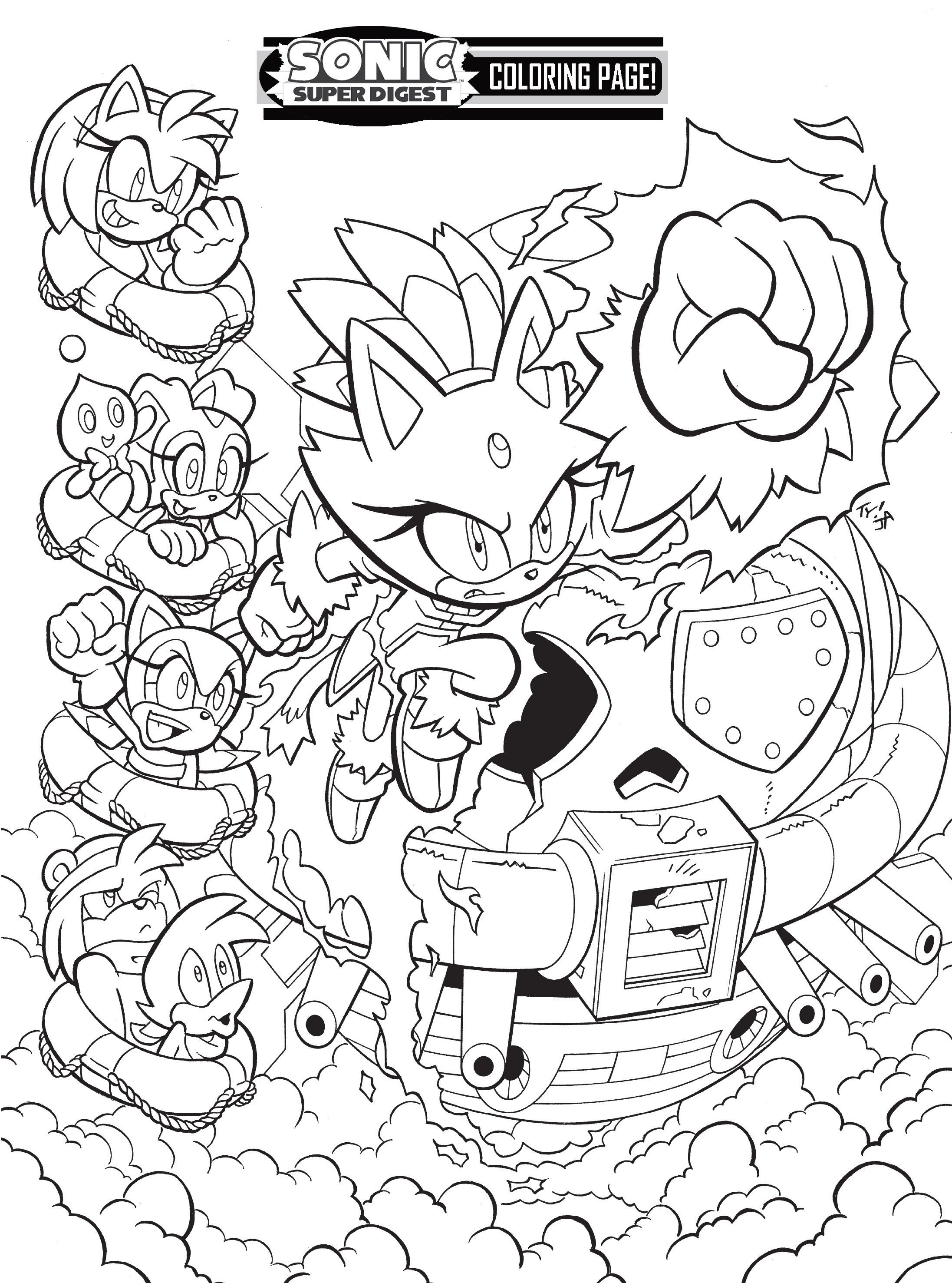 Read online Sonic Super Digest comic -  Issue #8 - 114