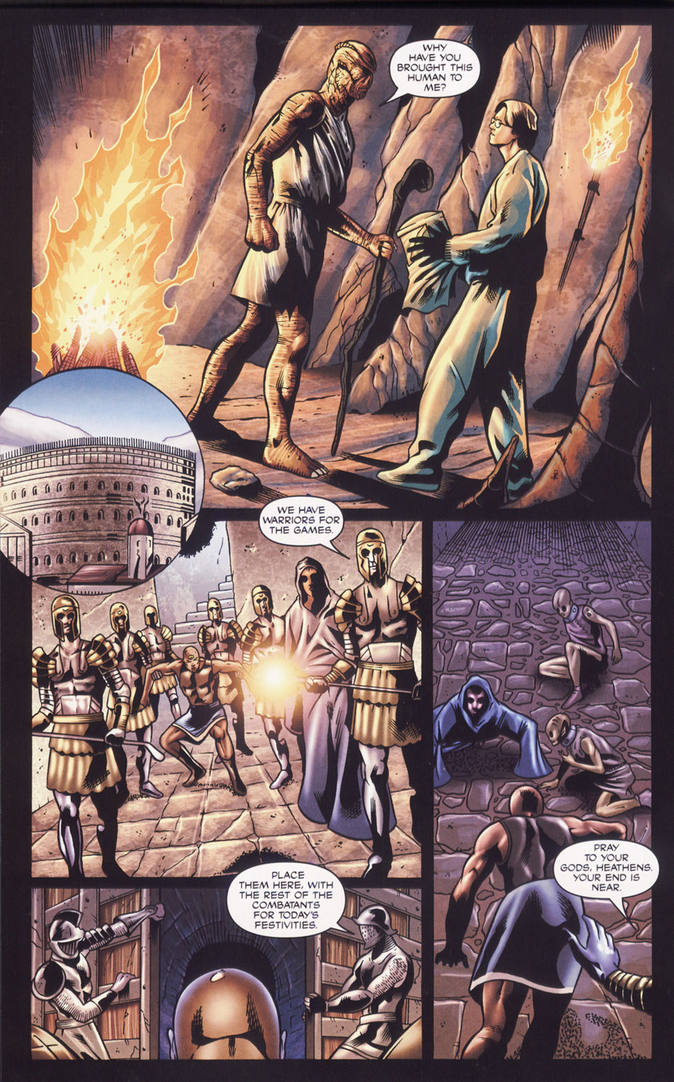 Read online Stargate SG-1: Fall of Rome comic -  Issue #2 - 20