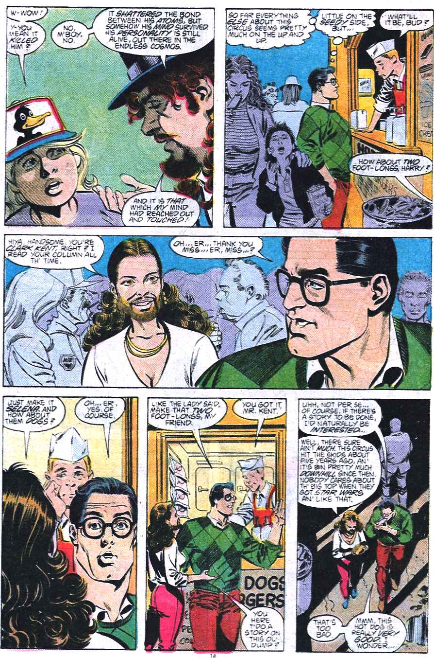 Read online Adventures of Superman (1987) comic -  Issue #438 - 15