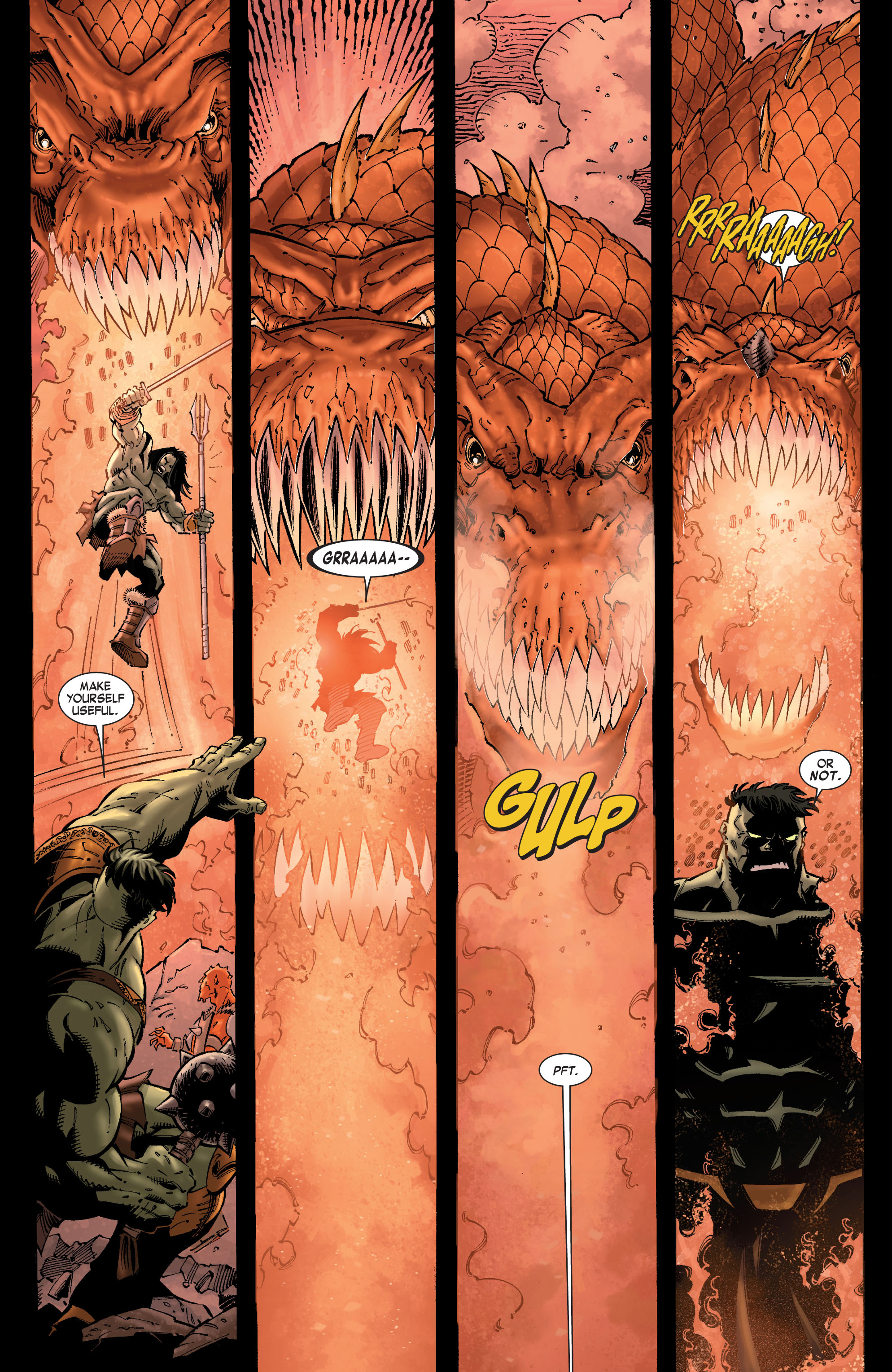 Read online Skaar: Son of Hulk comic -  Issue #9 - 8