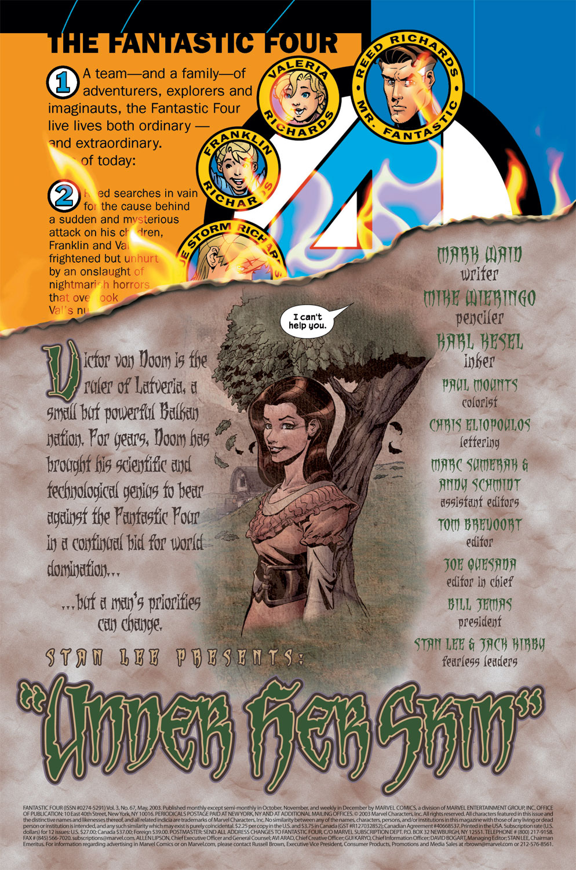 Fantastic Four (1998) 67 Page 2