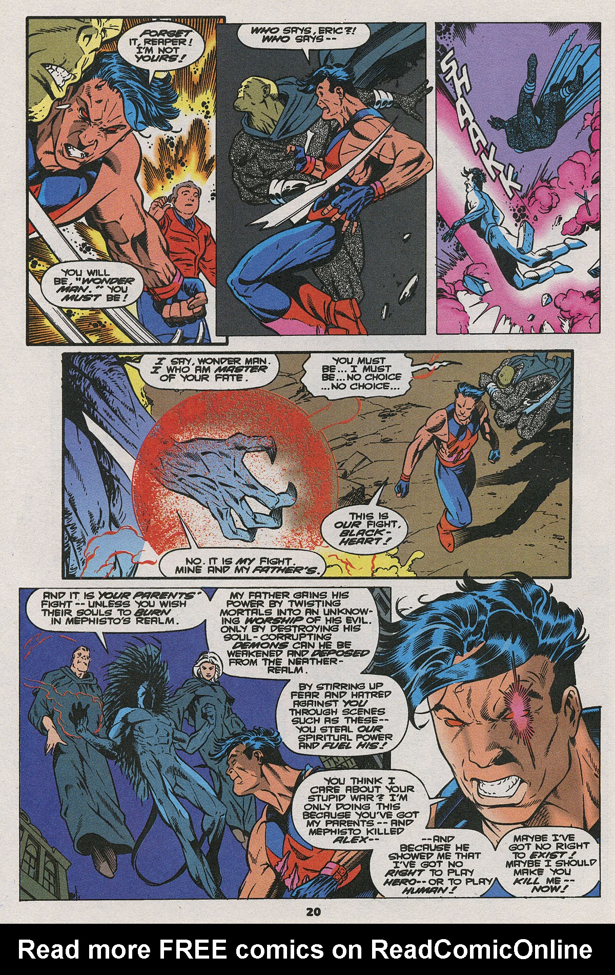 Read online Wonder Man (1991) comic -  Issue #24 - 16