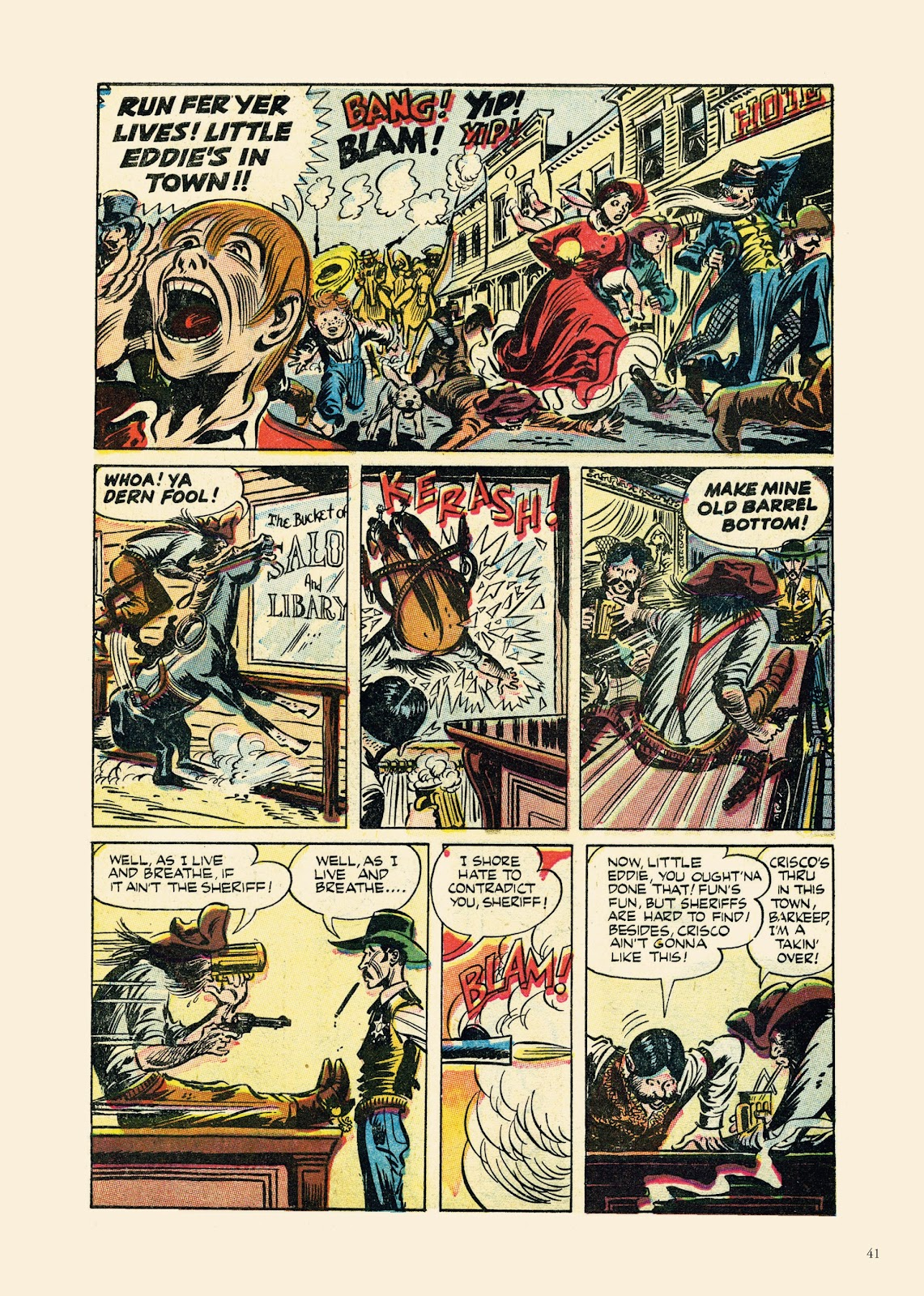 Read online Sincerest Form of Parody: The Best 1950s MAD-Inspired Satirical Comics comic -  Issue # TPB (Part 1) - 42