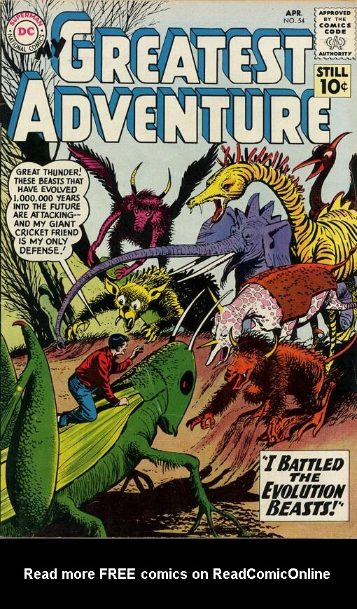 My Greatest Adventure (1955) issue 54 - Page 1