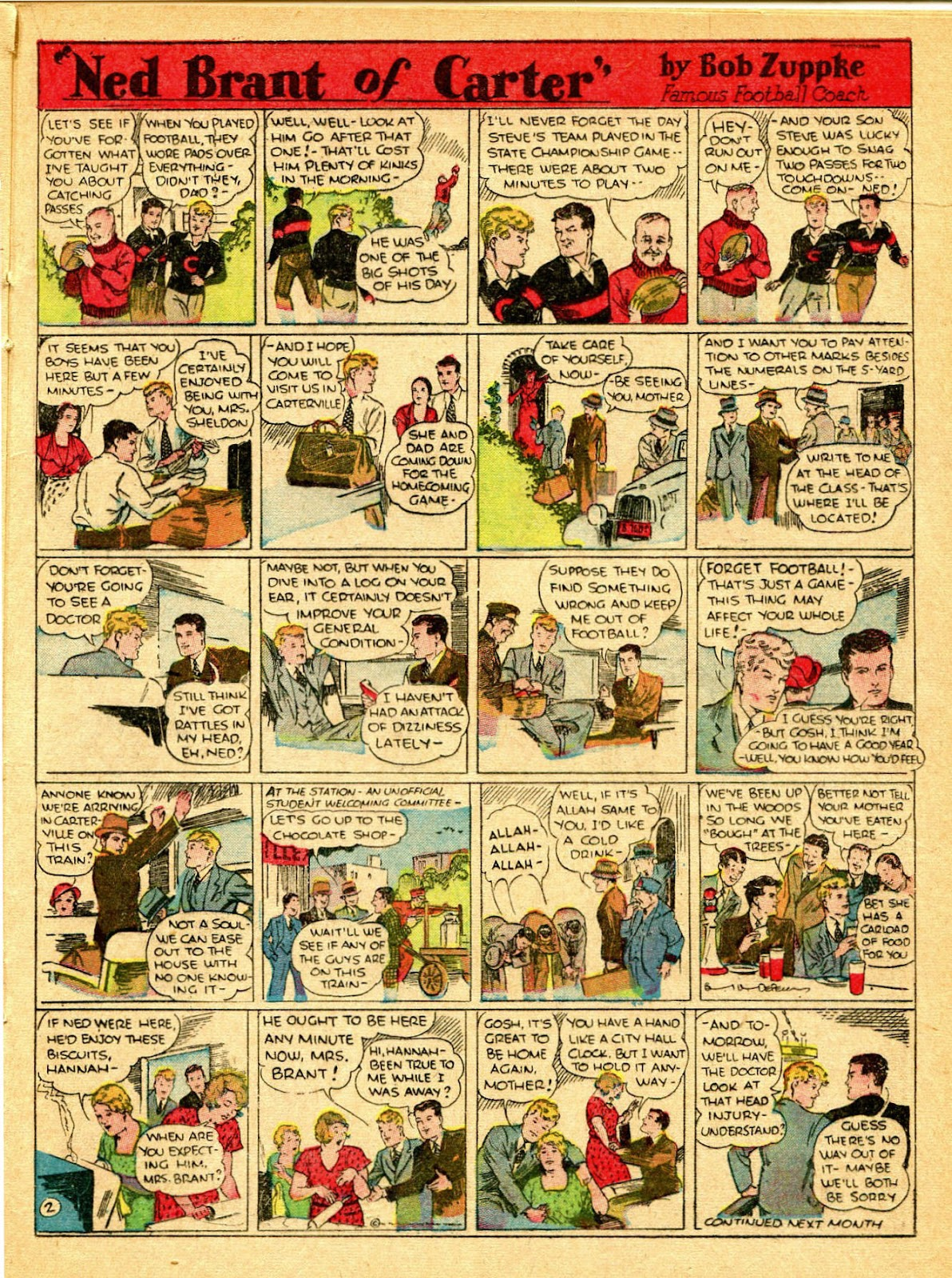 Read online Famous Funnies comic -  Issue #31 - 39