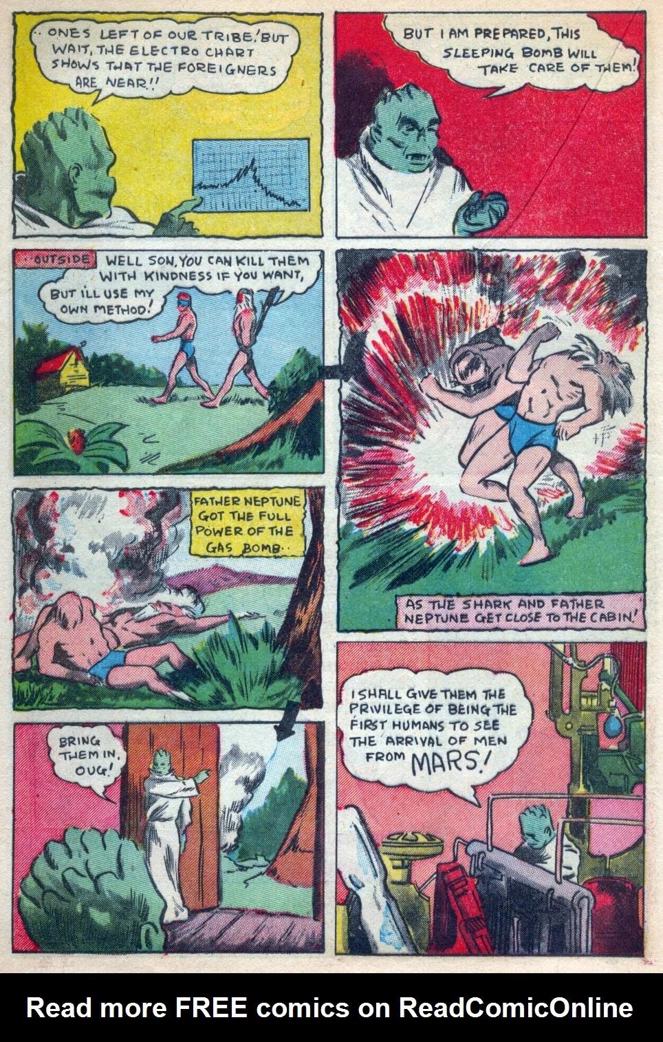 Read online Amazing Man Comics comic -  Issue #15 - 37
