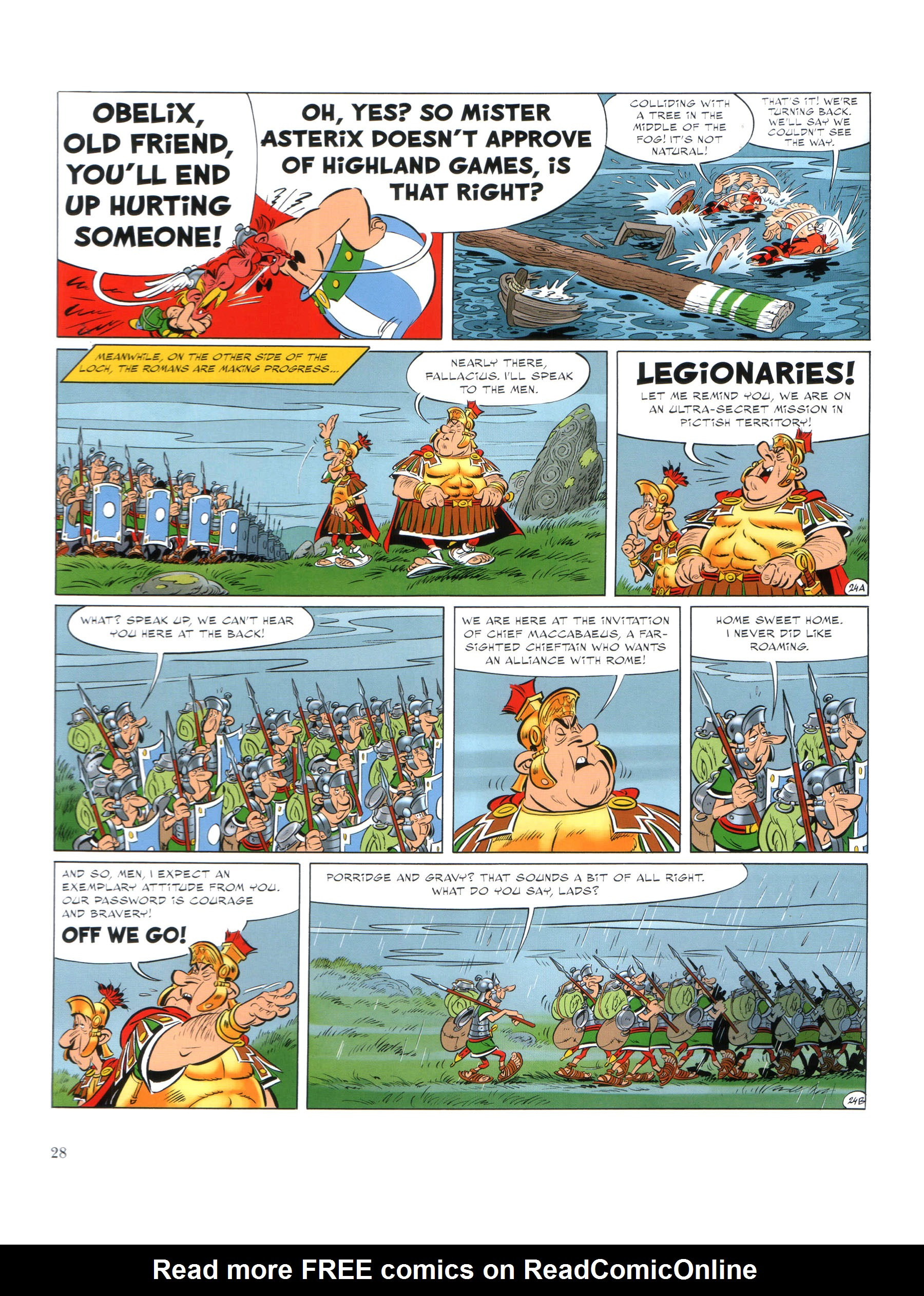 Read online Asterix comic -  Issue #35 - 29