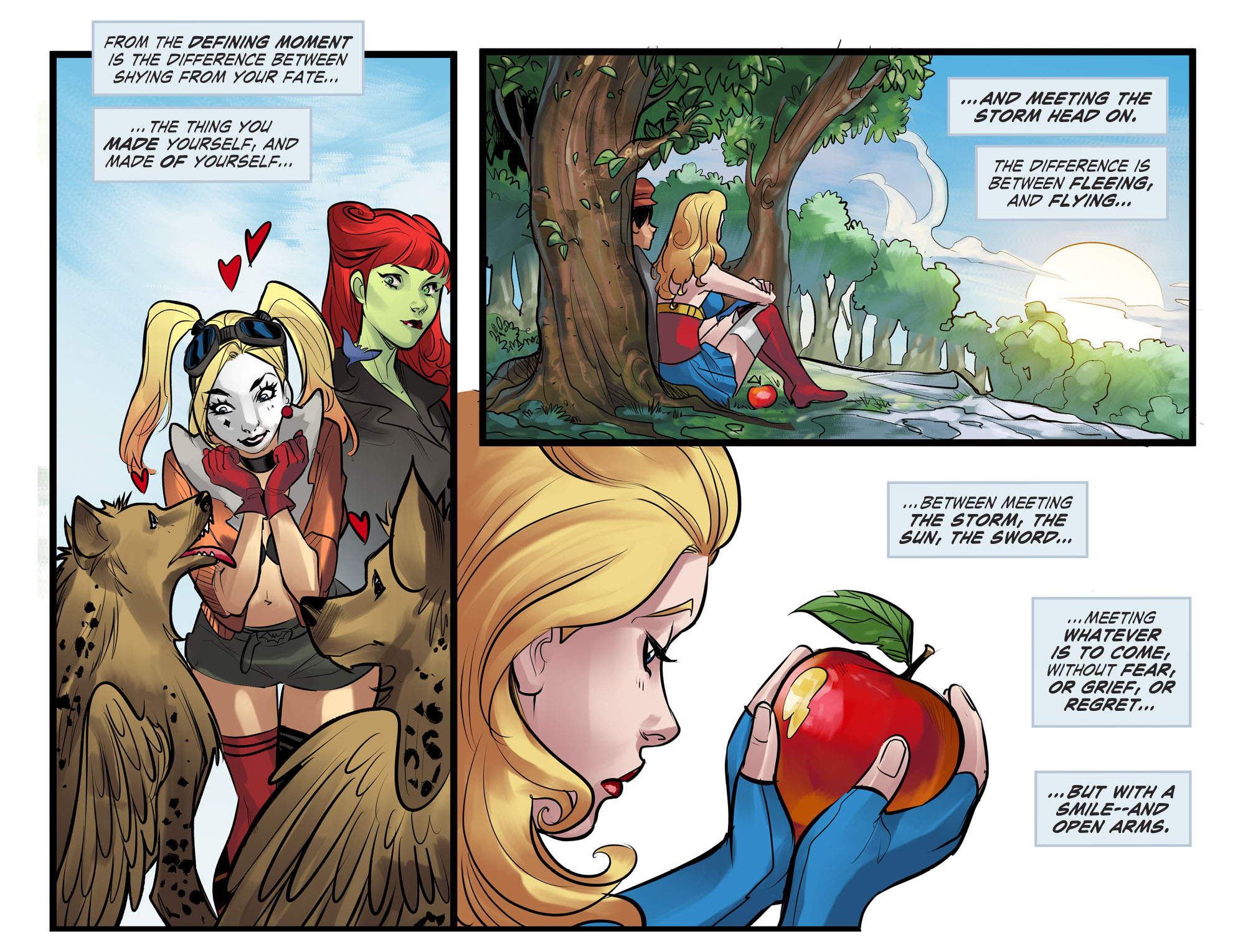 Read online DC Comics: Bombshells comic -  Issue #100 - 19