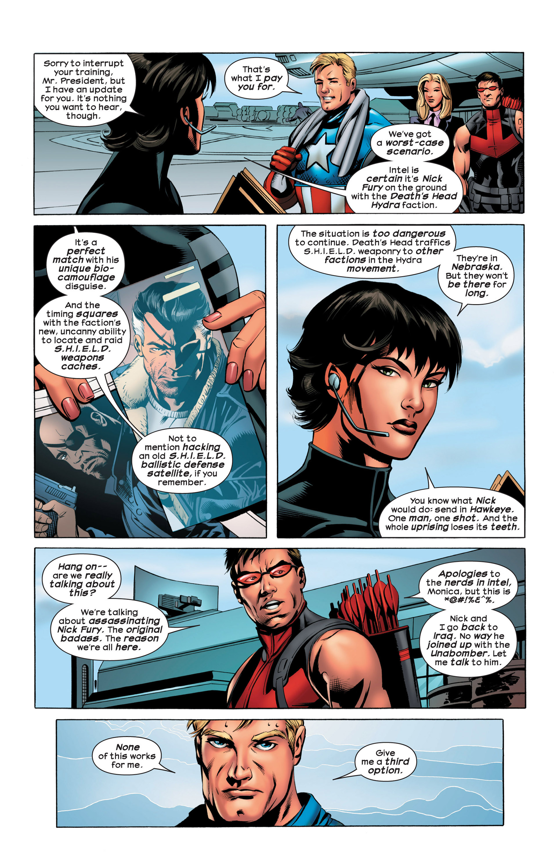 Read online Ultimate Comics Ultimates comic -  Issue #20 - 8
