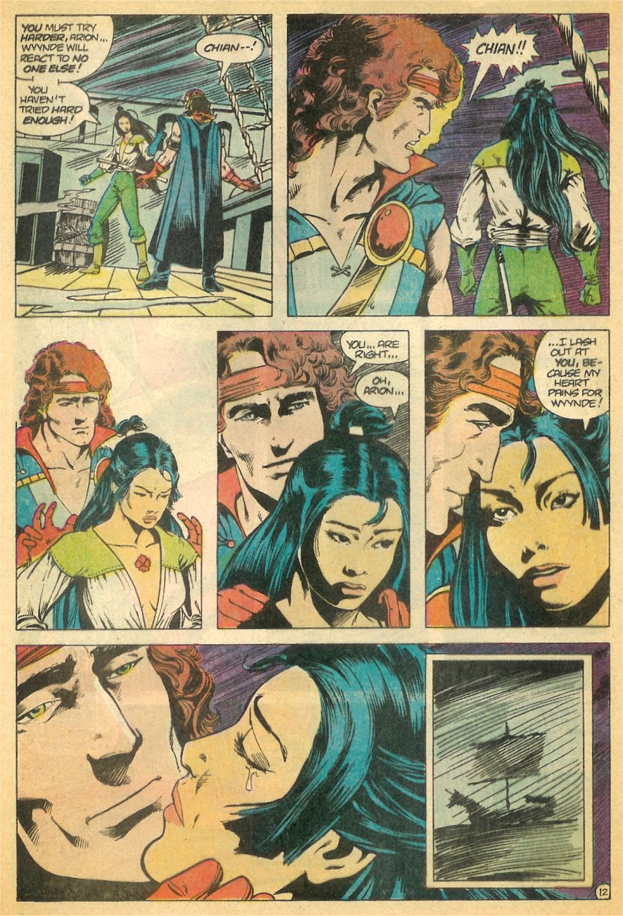 Read online Arion, Lord of Atlantis comic -  Issue #21 - 13