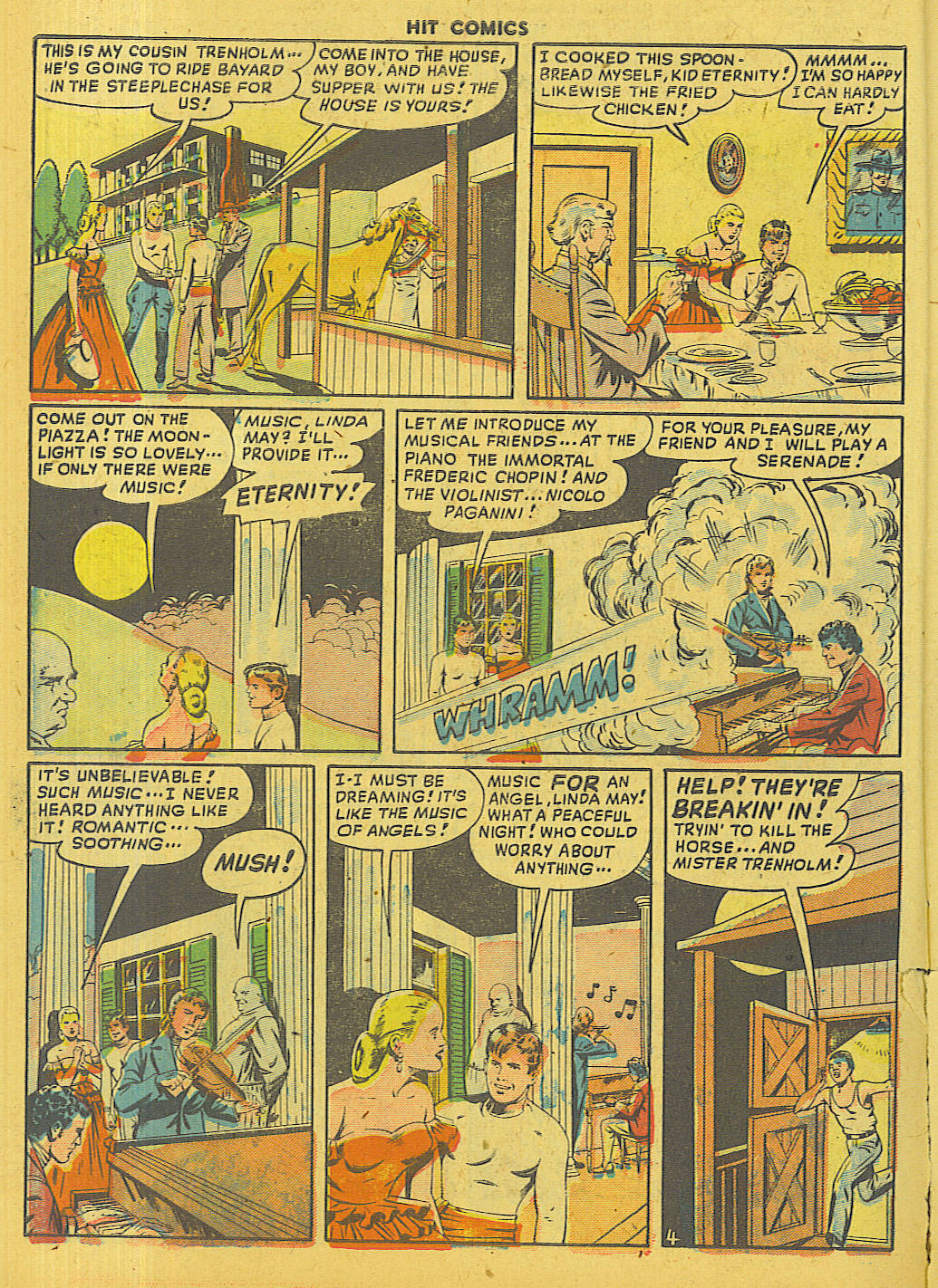 Read online Hit Comics comic -  Issue #56 - 6