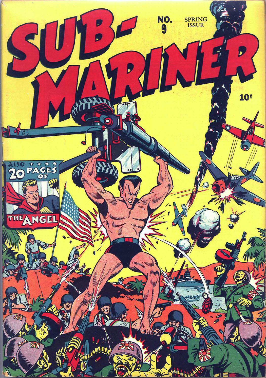 Sub-Mariner Comics 9 Page 1