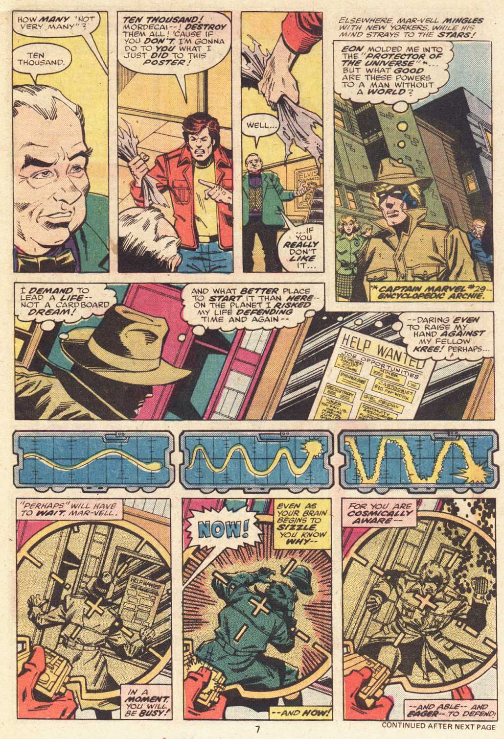Captain Marvel (1968) issue 51 - Page 6
