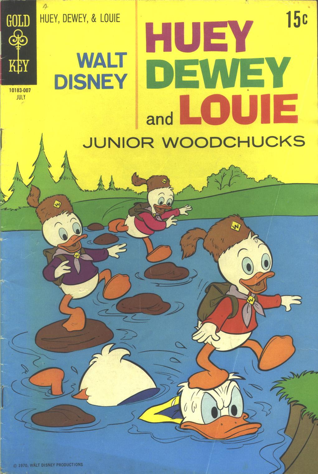 Huey, Dewey, and Louie Junior Woodchucks 6 Page 1