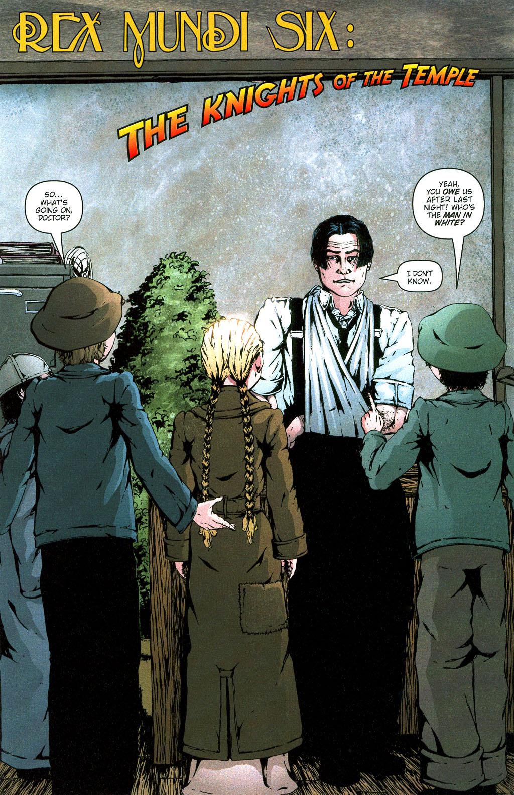 Read online Rex Mundi comic -  Issue #6 - 4