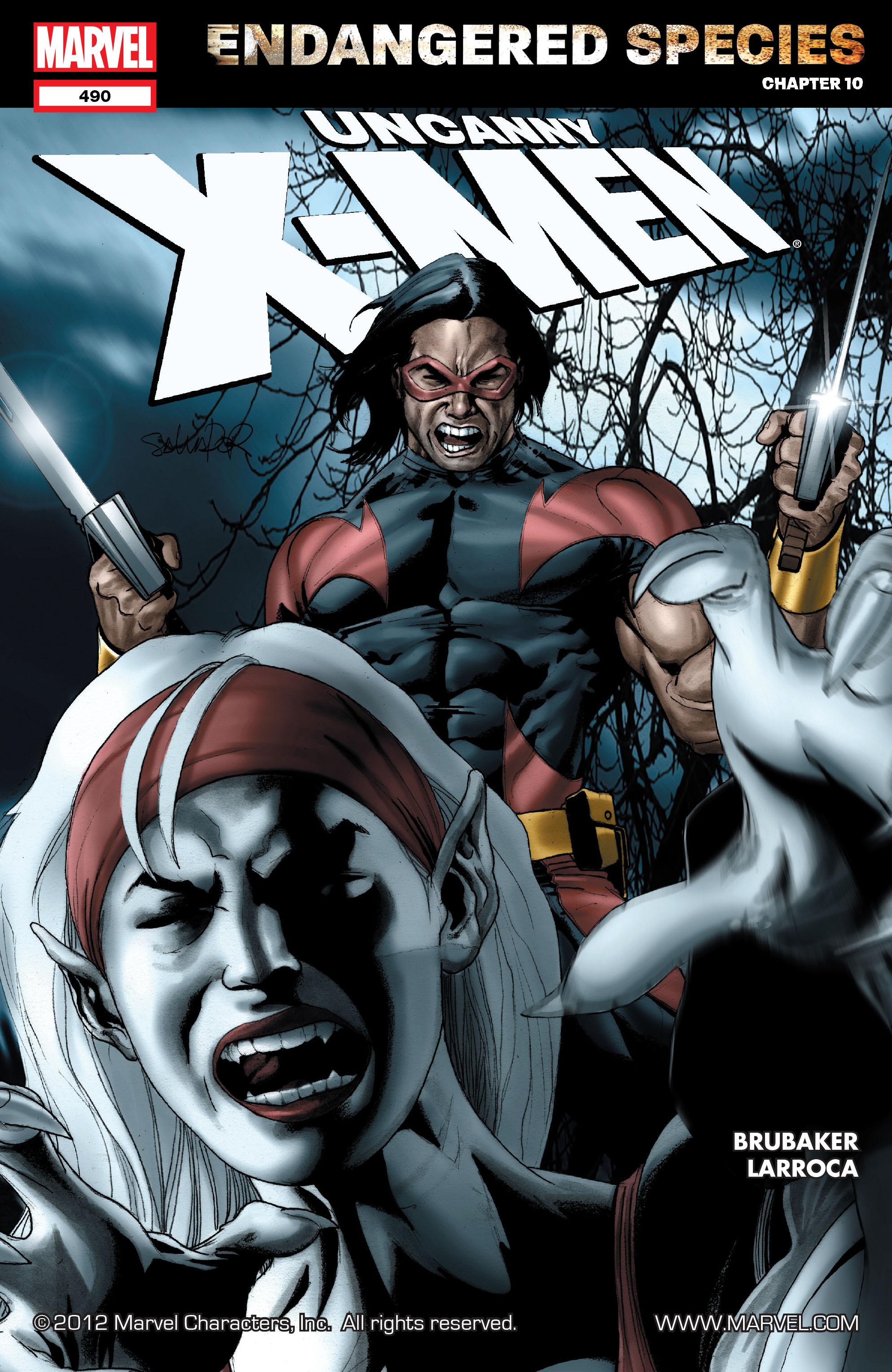 Uncanny X-Men (1963) 490 Page 1