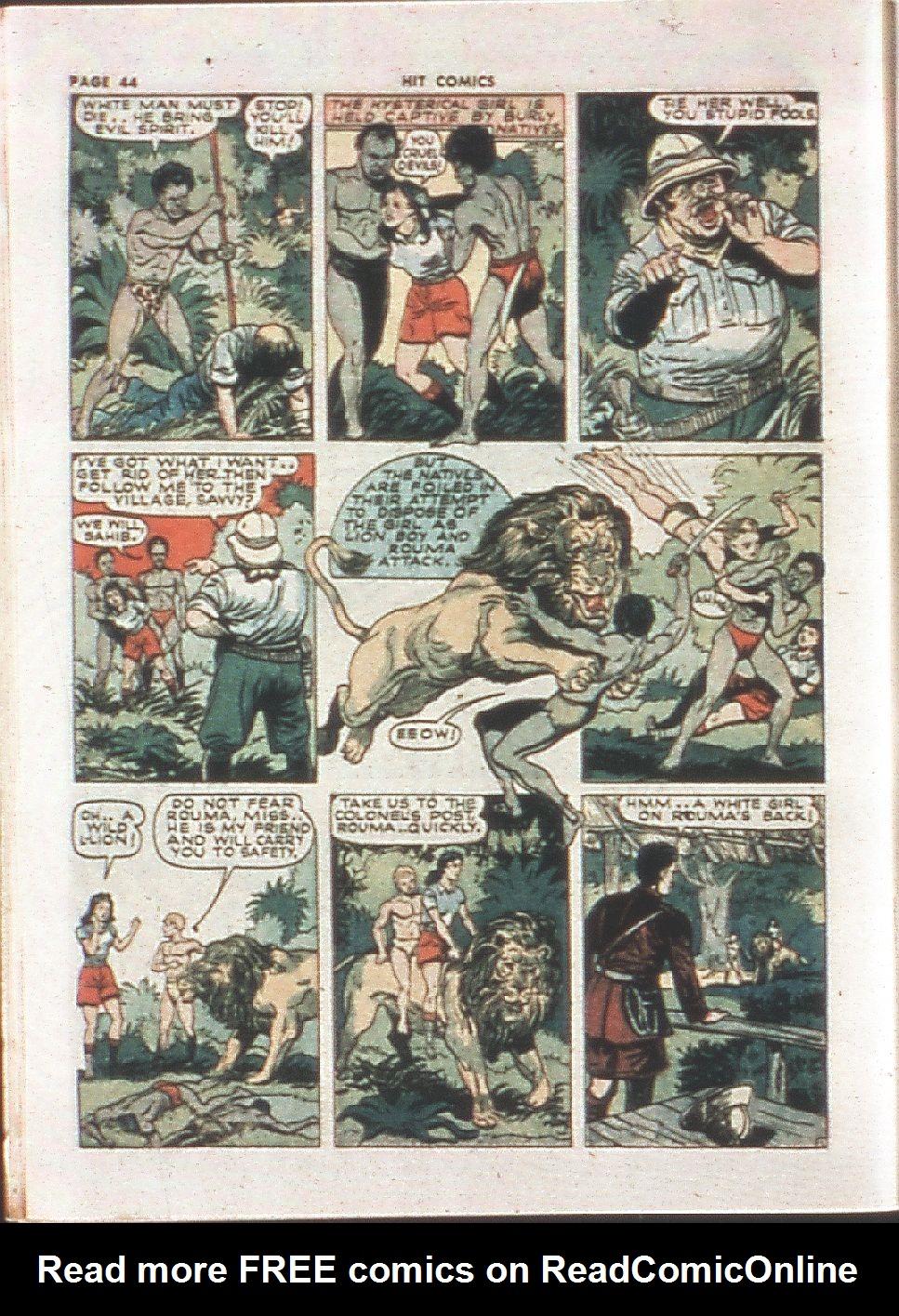 Read online Hit Comics comic -  Issue #21 - 46