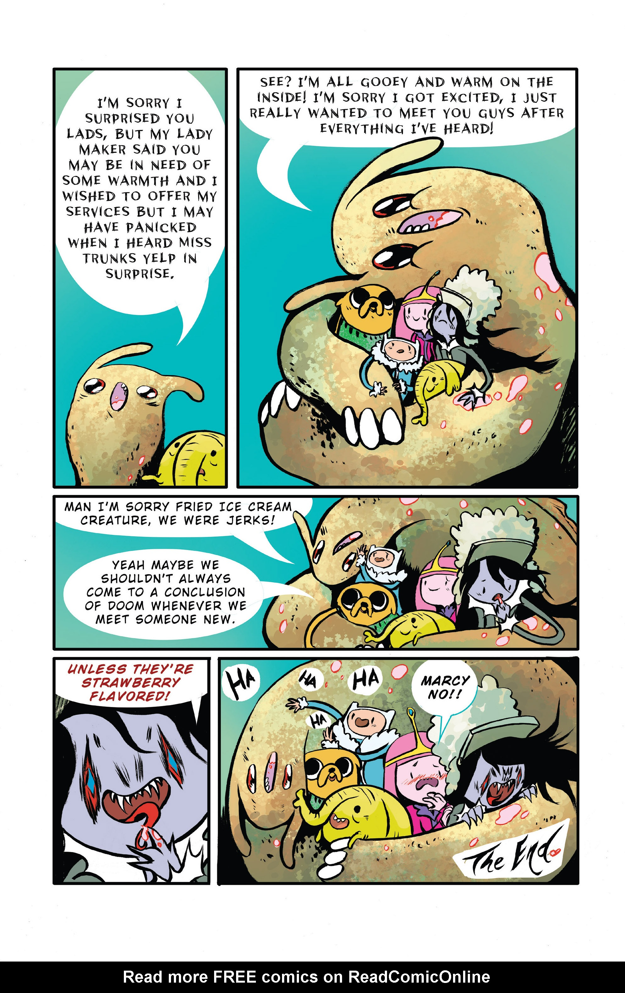 Read online Adventure Time 2014 Winter Special comic -  Issue #Adventure Time 2014 Winter Special Full - 33