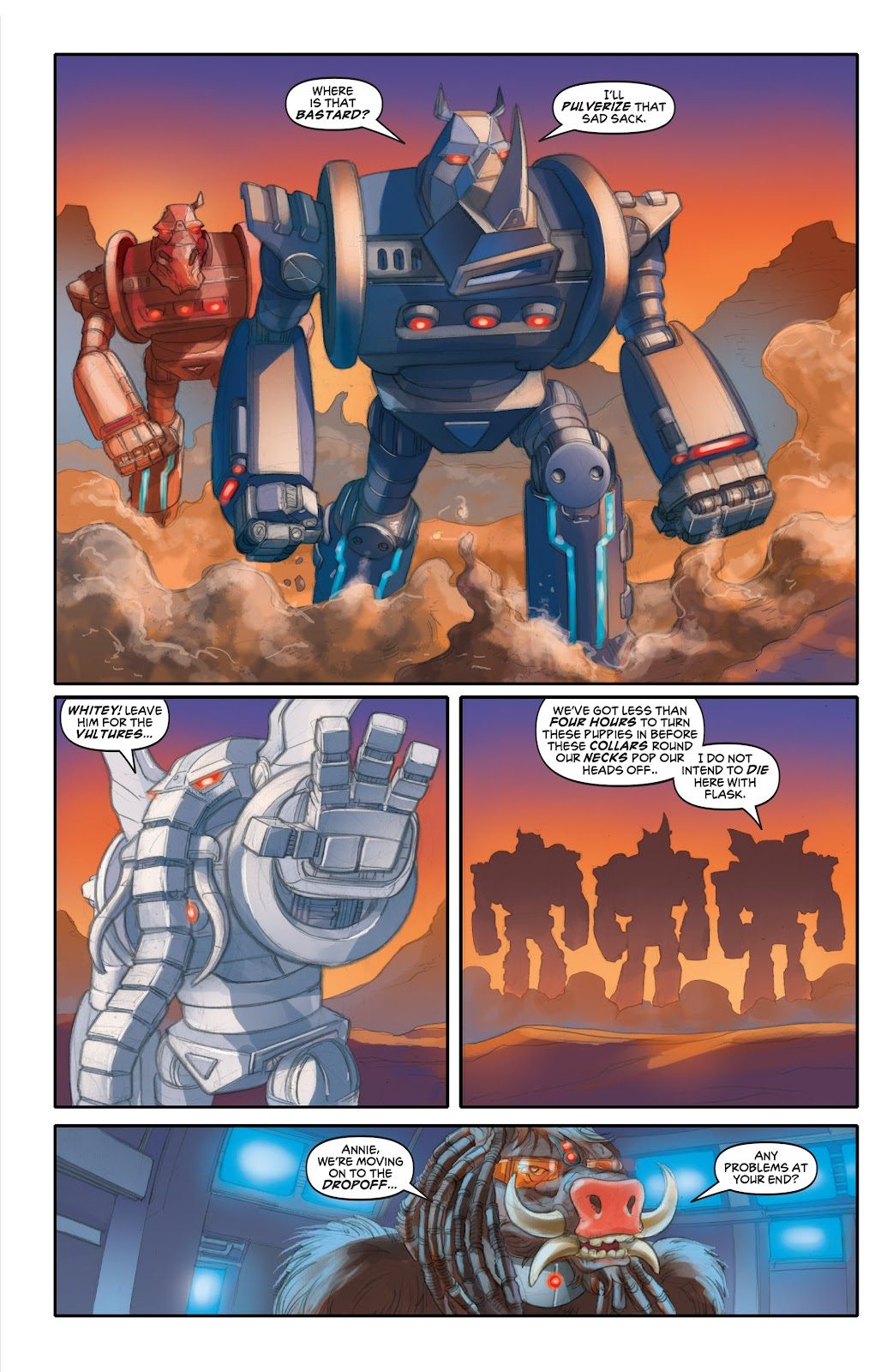 Read online Elephantmen 2261 Season Two: The Pentalion Job comic -  Issue # TPB - 79