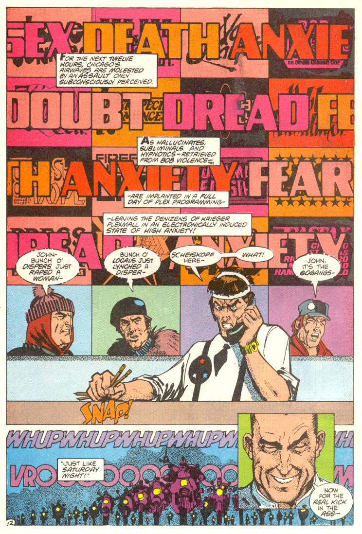 Read online American Flagg! comic -  Issue #12 - 13