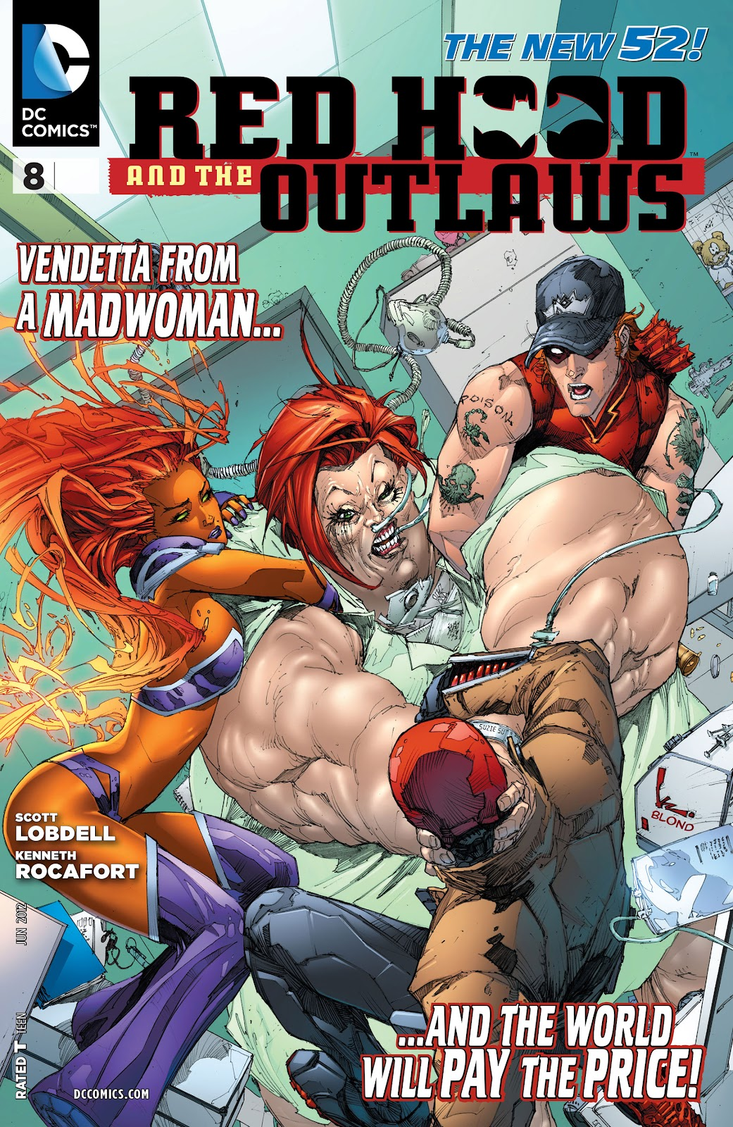 Red Hood And The Outlaws (2011) issue 8 - Page 1