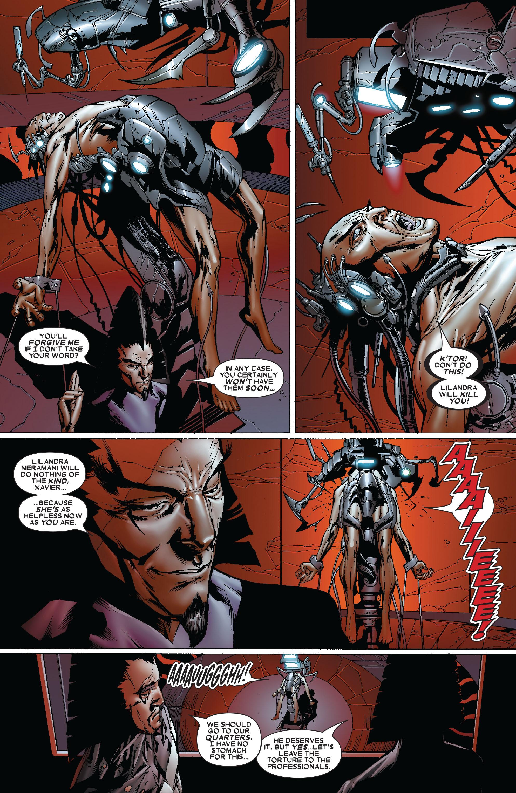 Read online Uncanny X-Men (1963) comic -  Issue #481 - 21