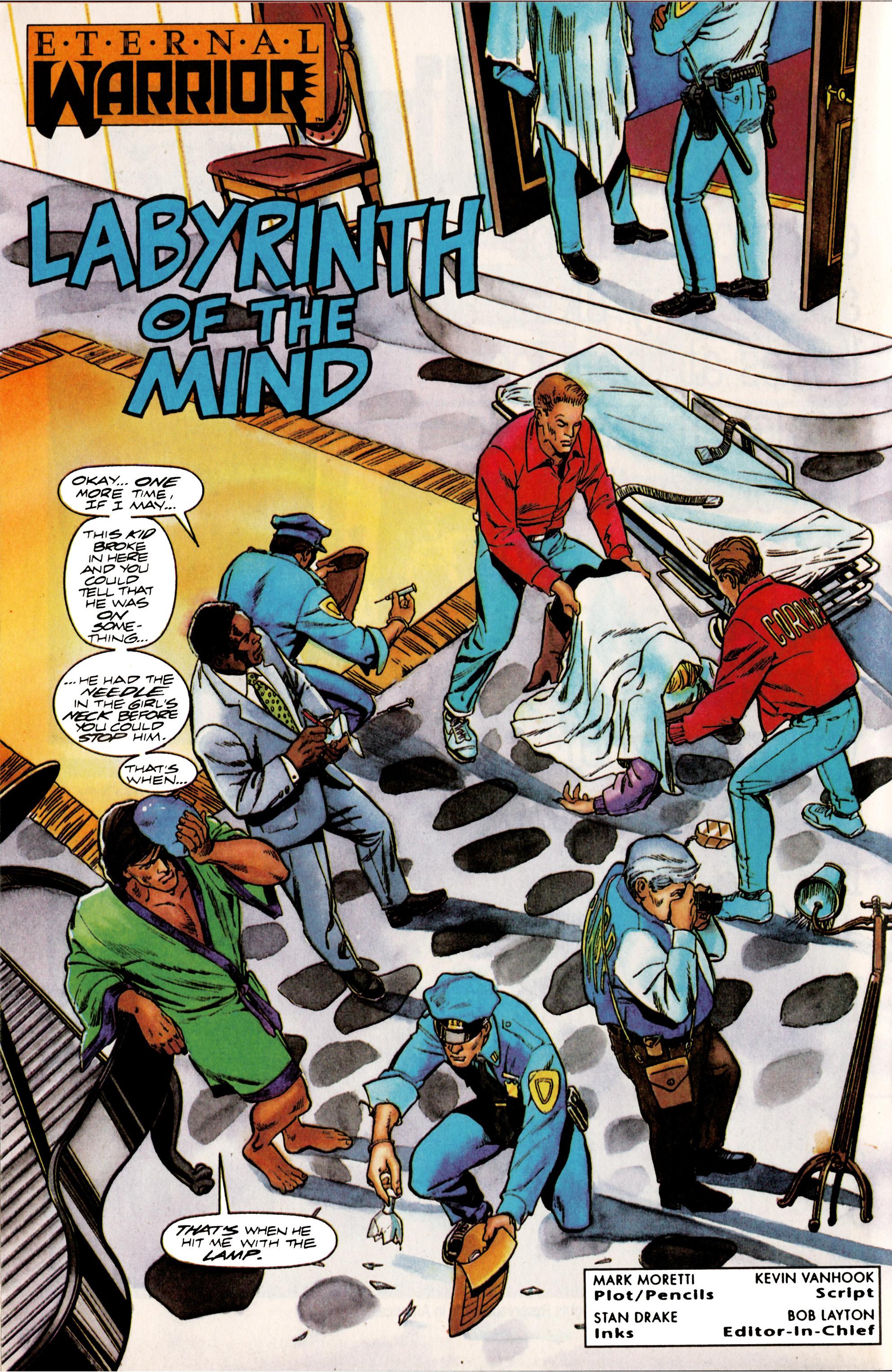 Read online Eternal Warrior (1992) comic -  Issue #13 - 6