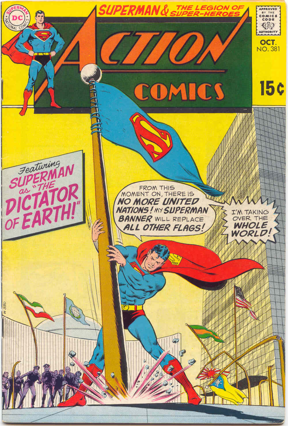 Action Comics (1938) 381 Page 0