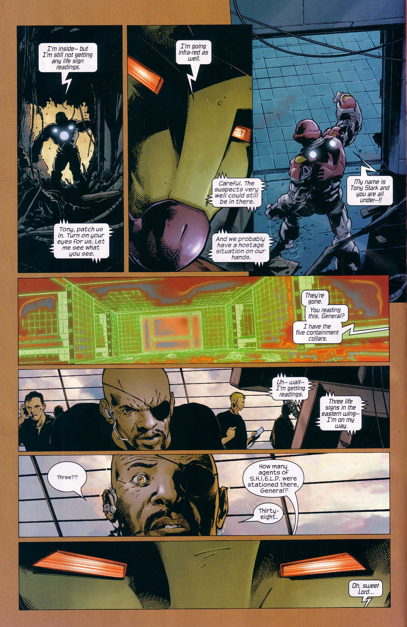 Read online Ultimate Six comic -  Issue #3 - 8