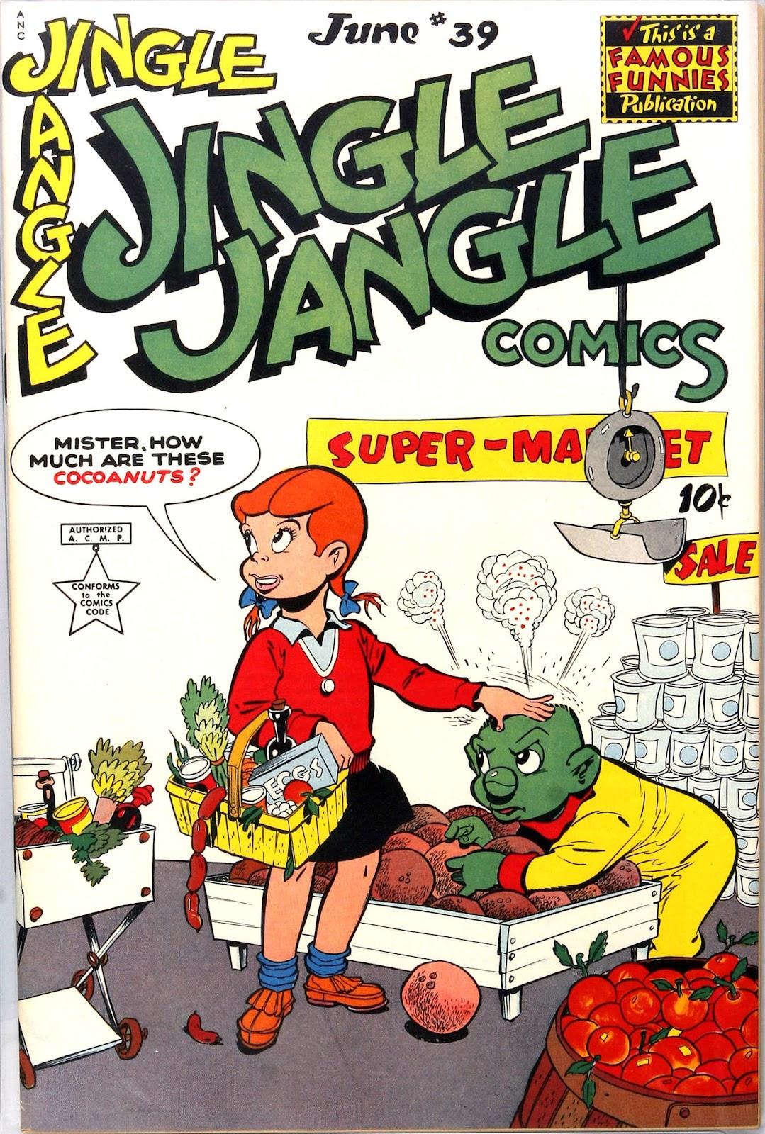 Jingle Jangle Comics issue 39 - Page 1
