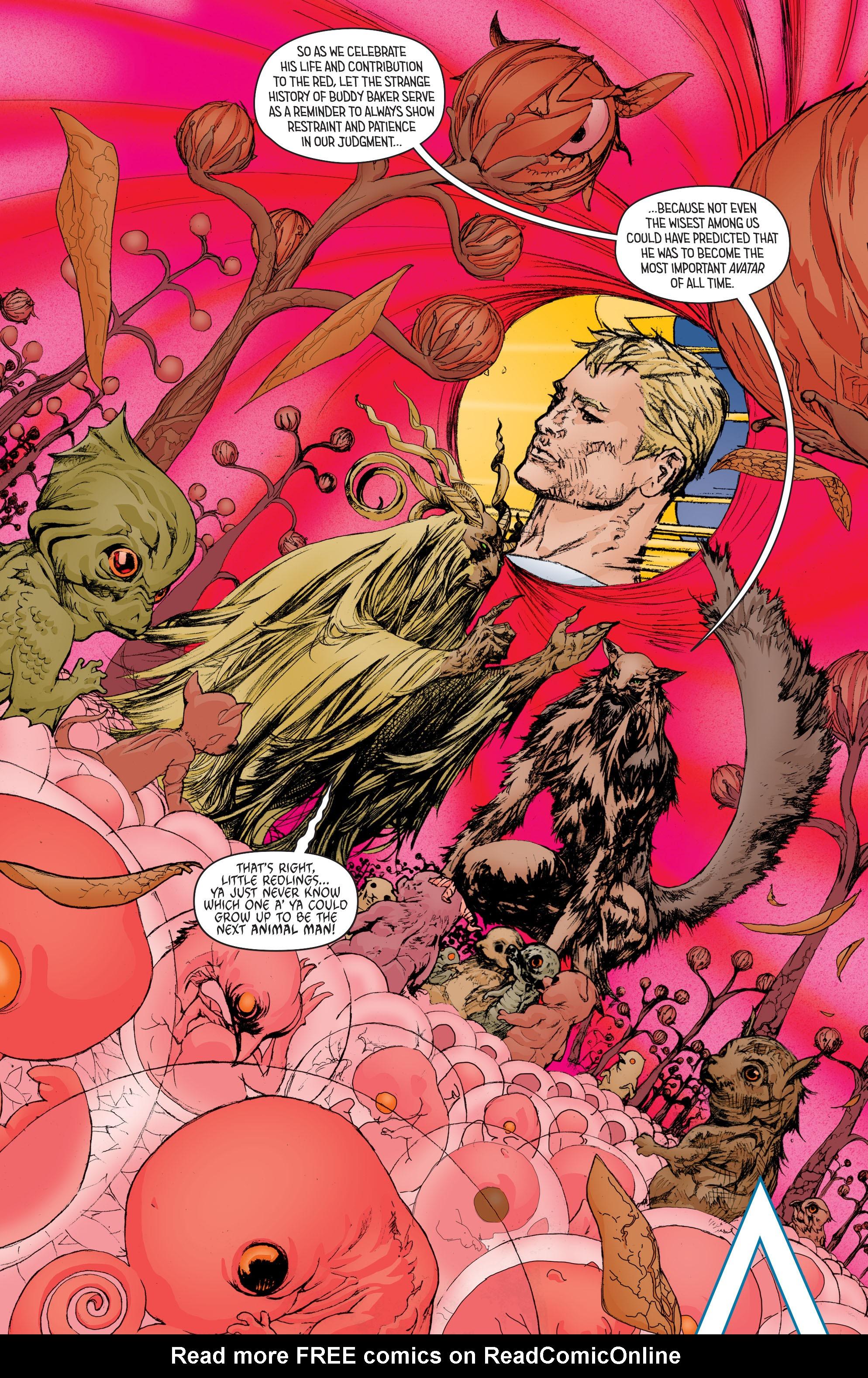 Read online Secret Origins (2014) comic -  Issue #8 - 21