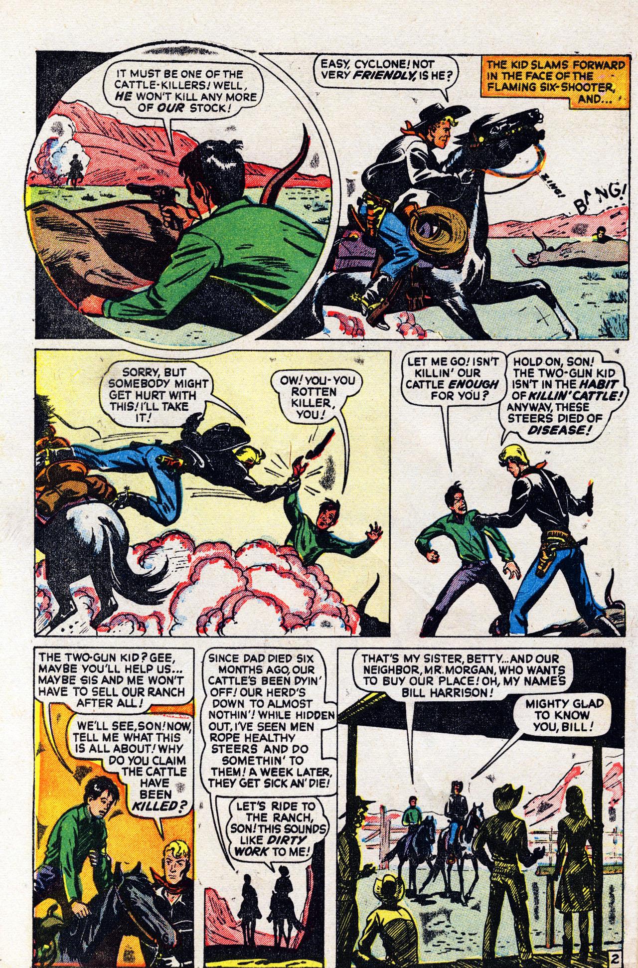 Read online Two-Gun Kid comic -  Issue #6 - 28